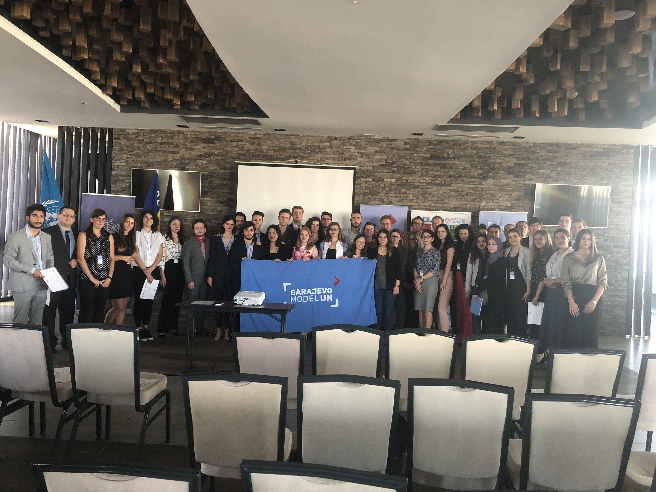 Sarajevo Model UN '18 - Closing Ceremony