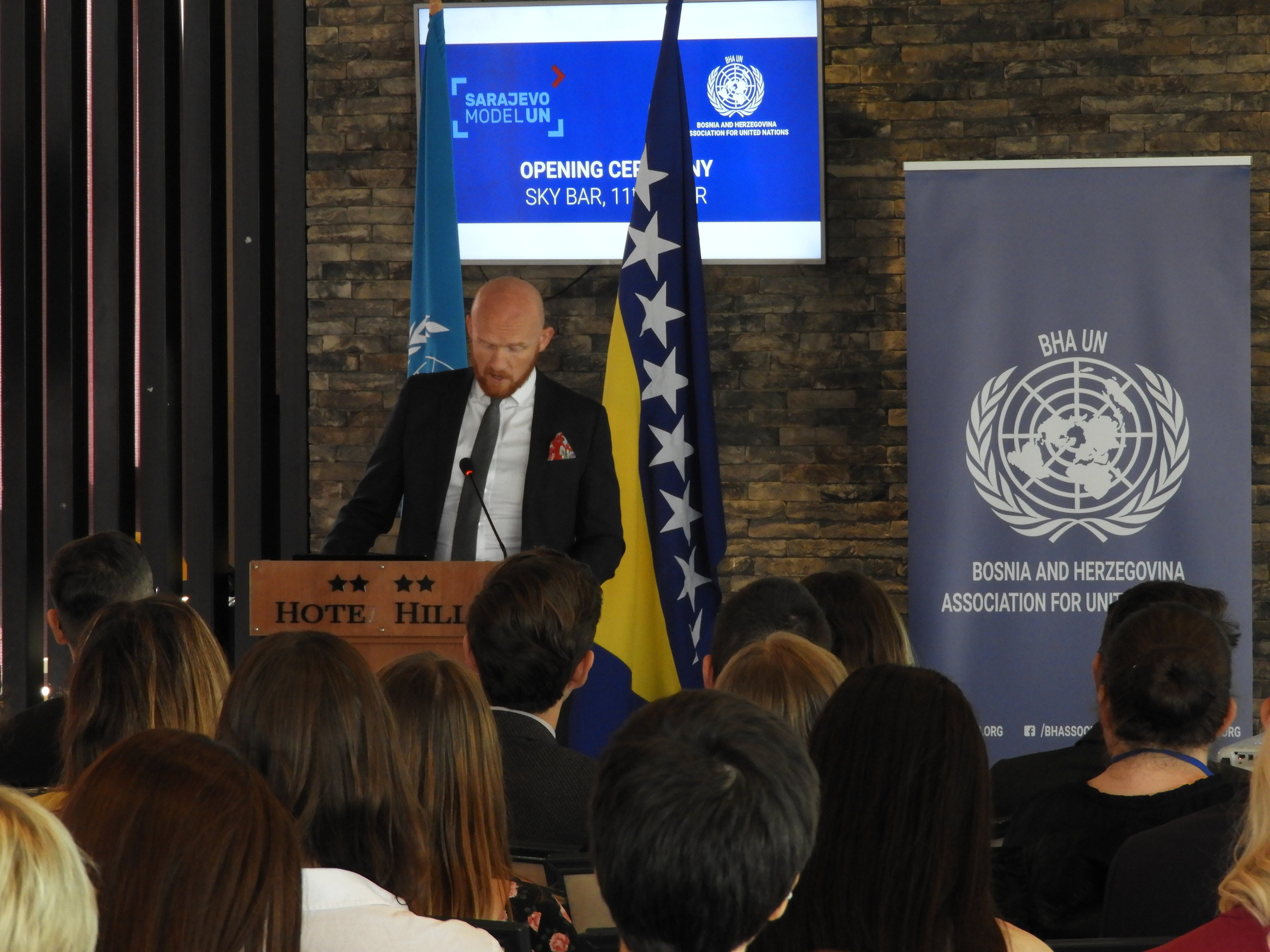 H.E. Mr. Matthew Field, British Ambassador to Bosnia and Herzegovina