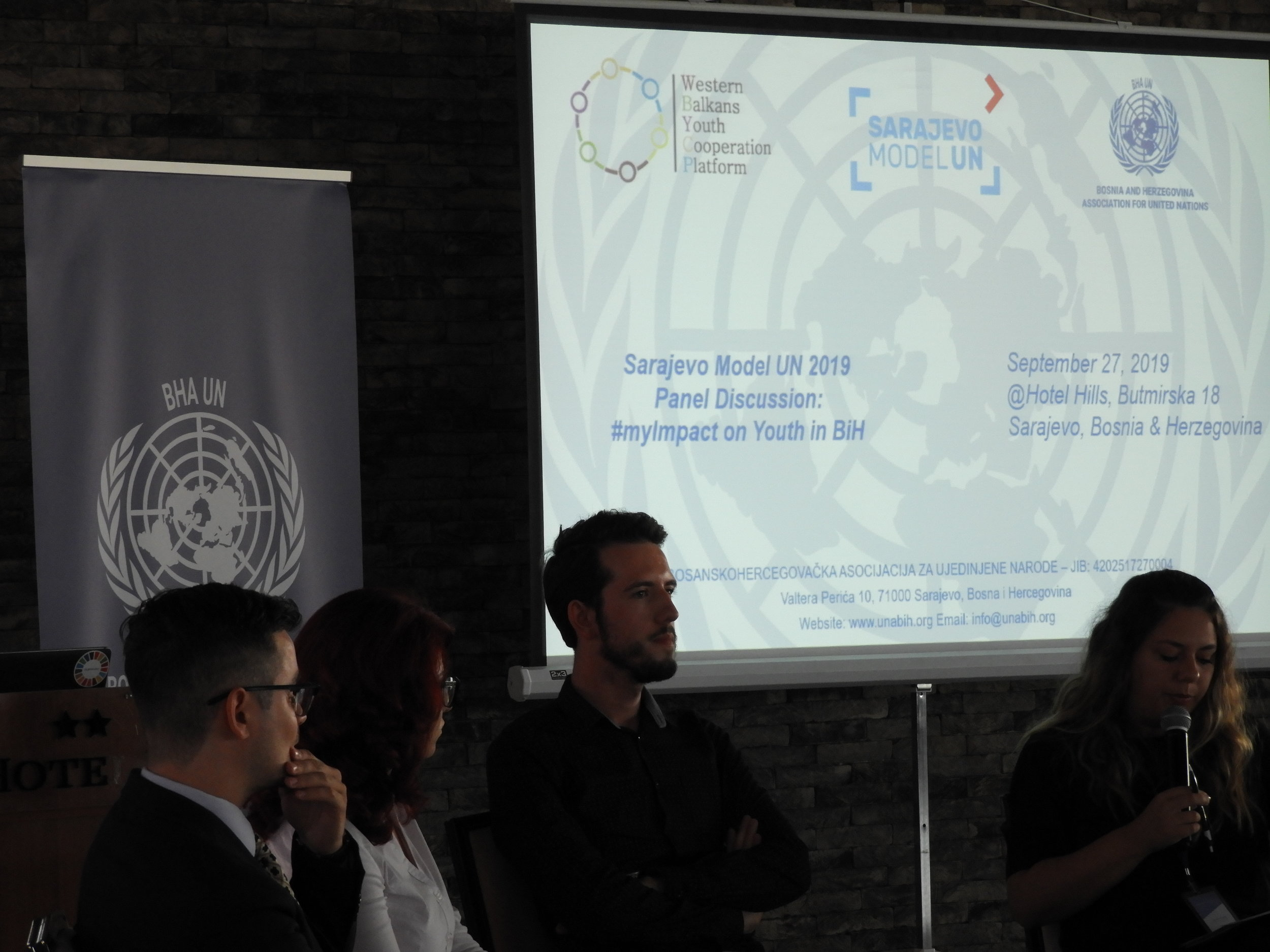 Panel Discussion: #MyImpact on Youth in Bosnia and Herzegovina