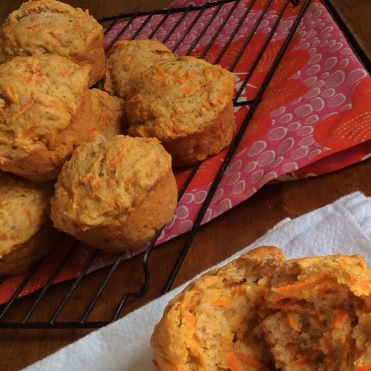 Spiced Carrot Muffins - Soft and moist with veggies to bootBELLYBOOTCAMp.ca