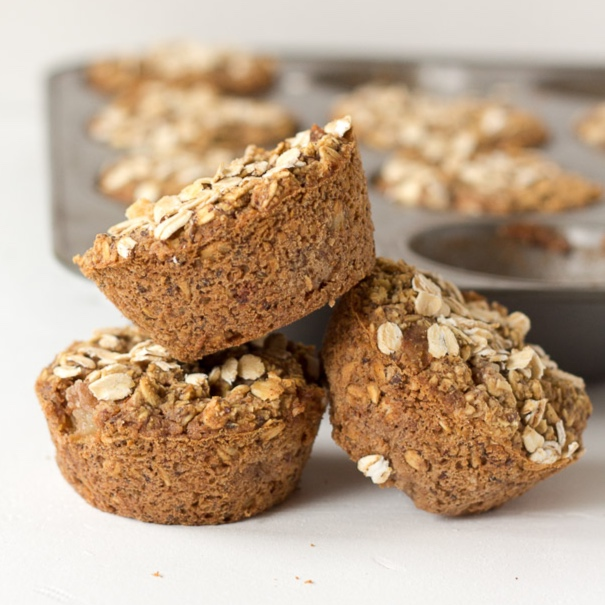 Oatmeal Pear Muffins - Light and sweet for the perfect gluten free treatglutenfreeveganpantry.com