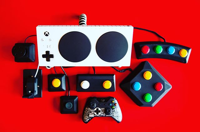 Officially announcing: Warfighter Engaged's XBOX Adaptive Controller peripherals. Visit our website www.warfighterengaged.org and check out our catalog for current switches or contact us for  custom set ups and buttons - we will work directly with you to create what works best for your needs! All donations made toward #XboxAdaptiveController equipment goes toward providing severely wounded veterans custom gaming equipment! #XAC #xbox #gamingforeveryone #accessiblegaming #occupationaltherapy #accessibletechnology #a11y #adaptivegaming @microsoft @msft_research @xbox