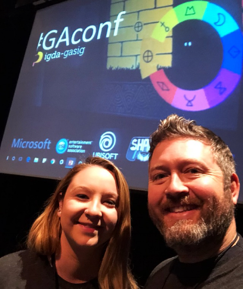 Kaitlyn & Erik at GAConf!