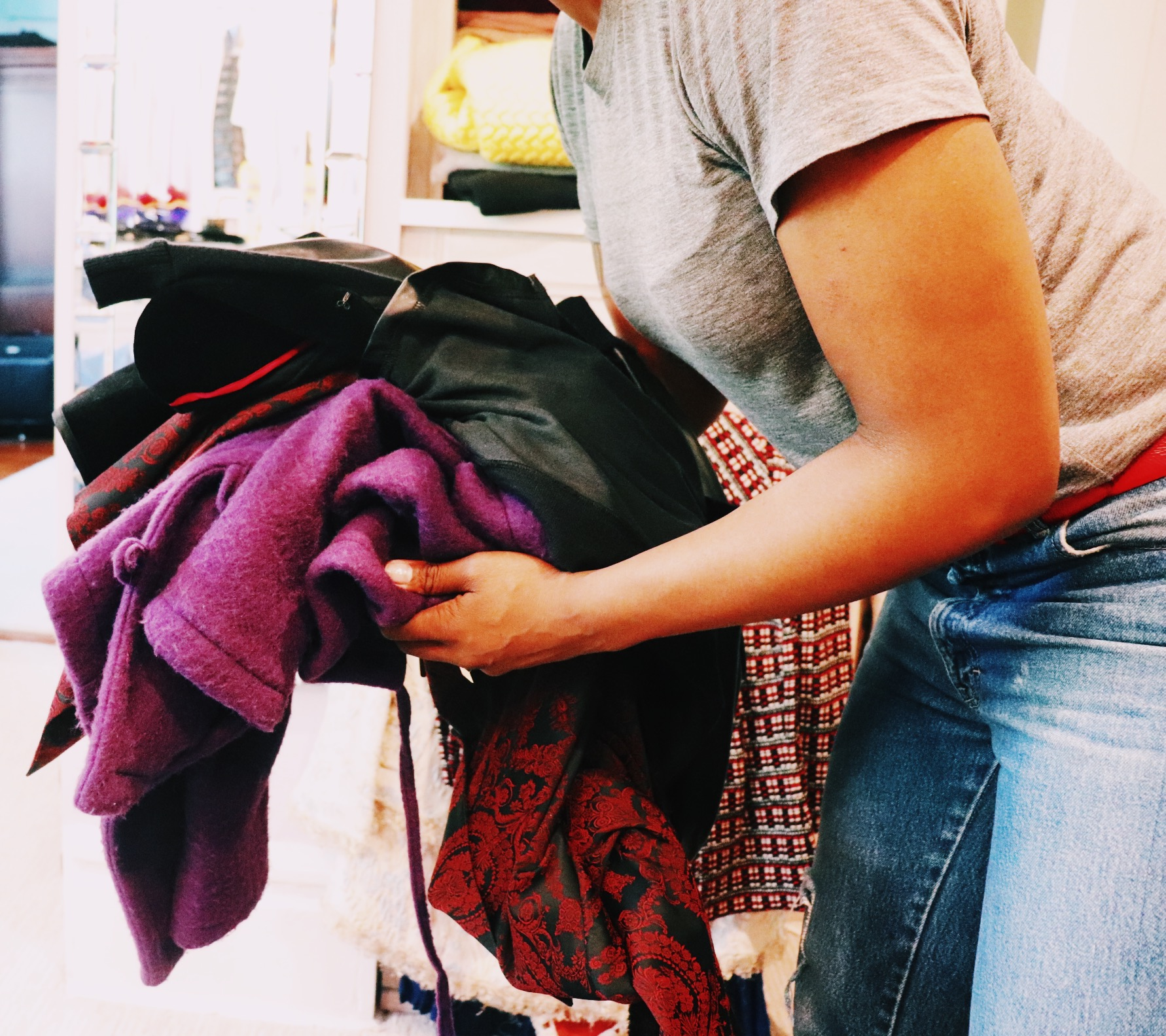 Your Clothing is organized into 3 categories: Entrepreneurship, Philanthropy & Sustainability. These 3 categories give you the  most ethical options in clothing disposal.
