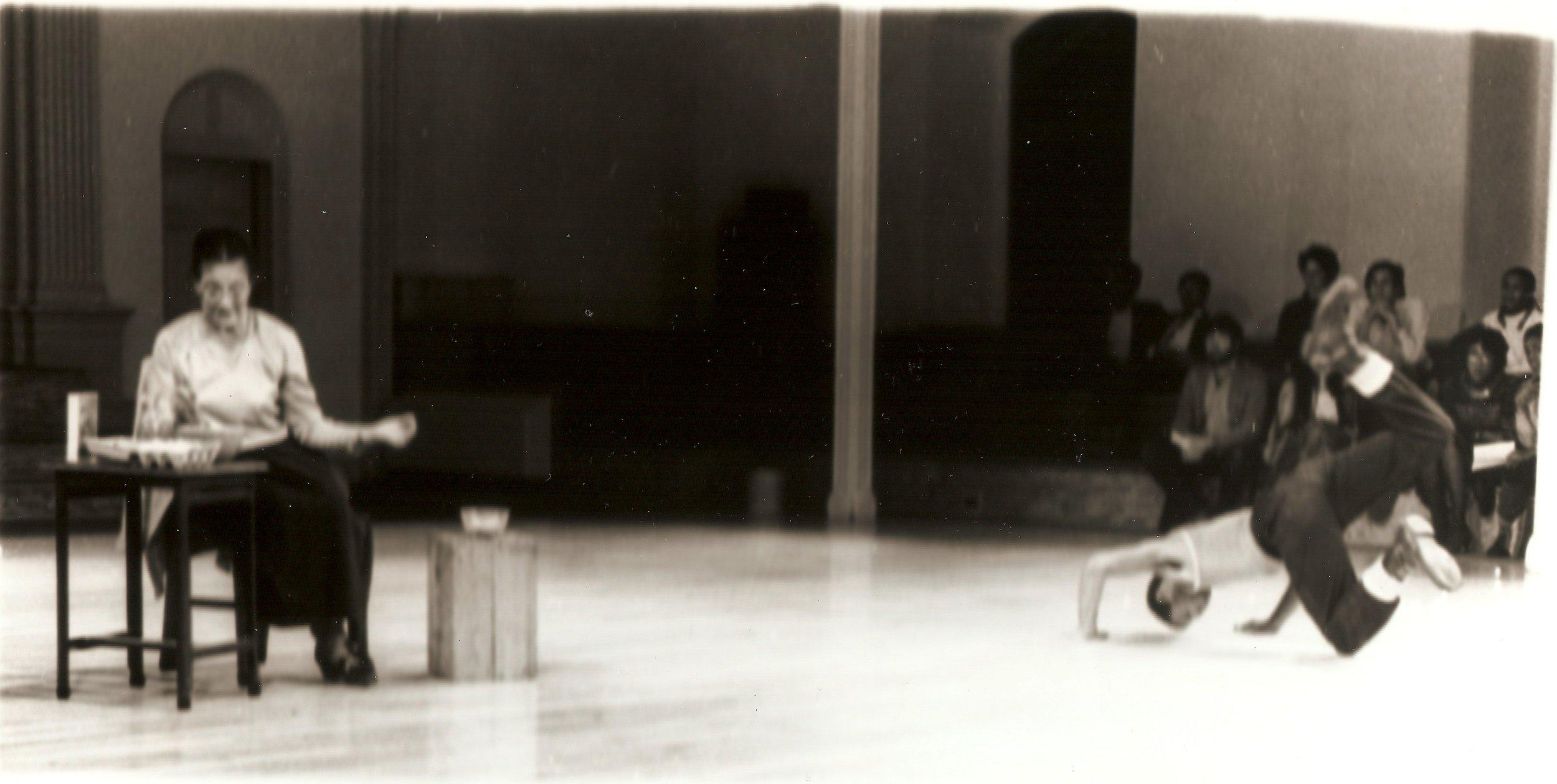 Part 2: Relatives , With Pauline Houston Jones and Ishmael Houston-Jones, Danspace Project, 1982,   Photo: Pamela Moore