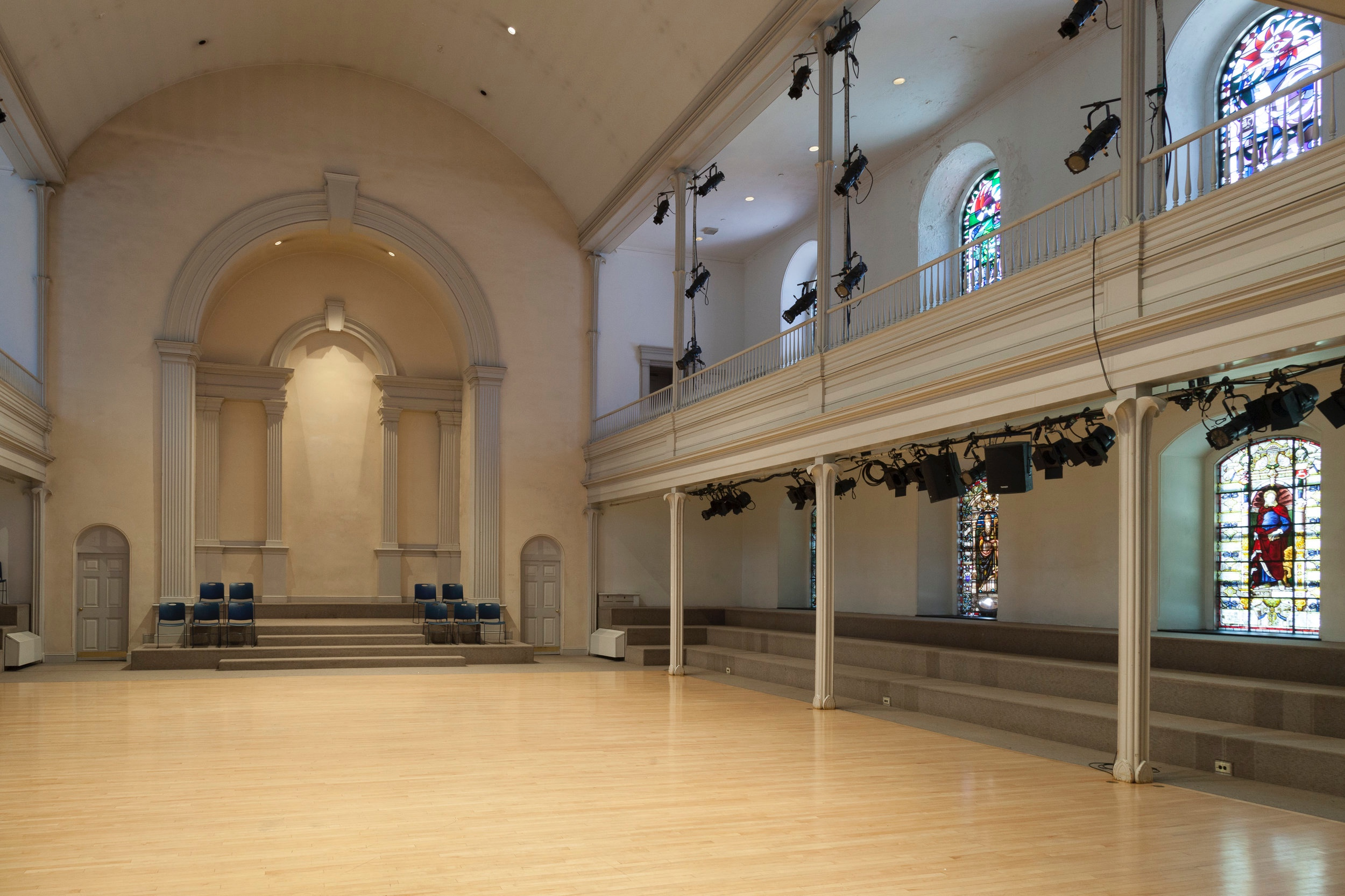 Danspace Project at St.Mark's Church in the Bowery.   Photo: Anya Hitzenberger