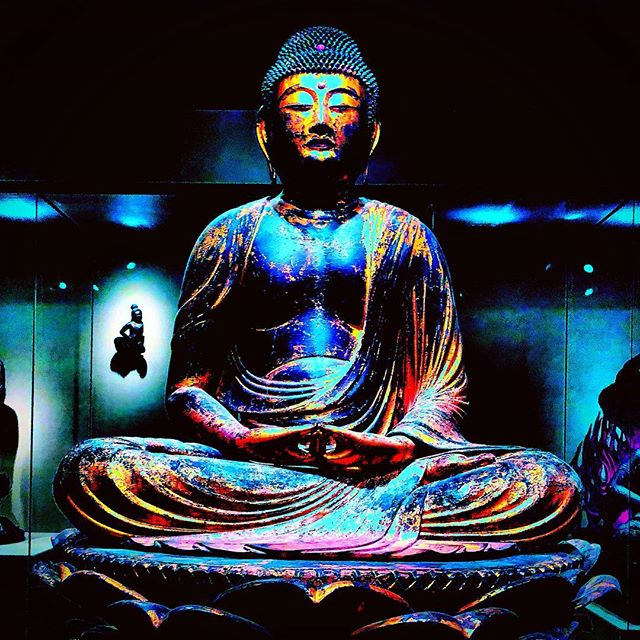 As beauty, wisdom emerges from the murk, yet remains umbilically bound to opacity and confusion. #buddha #clarity #beauty #spiritualart #poetry #shortpoem #poetsofinstagram #religion #knowledge #confusion #asianart #statue #museums #transcendence #lotus #lotusbirth #artphotography
