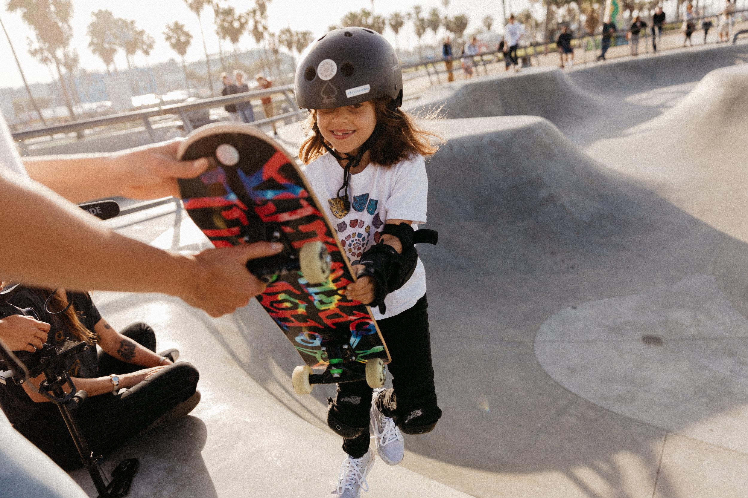 Maya gnar honeys venice skatepark