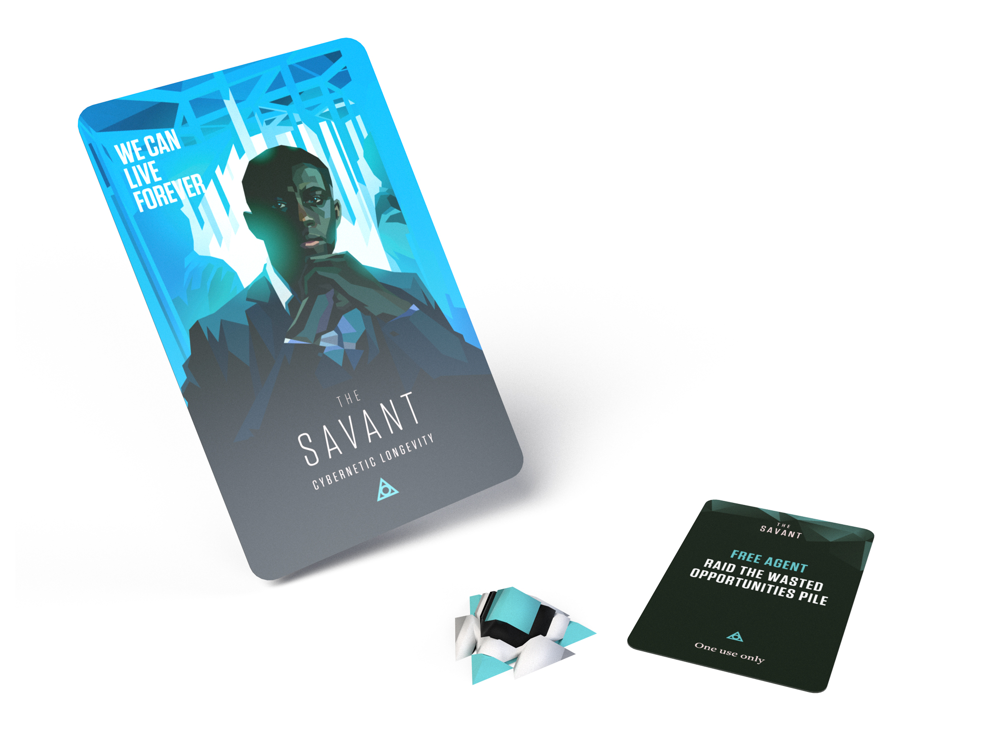 The Savant archetype - The Savant player character will create a technology that lets us live forever if he wins, but of course, available only to the 1% that can afford it...