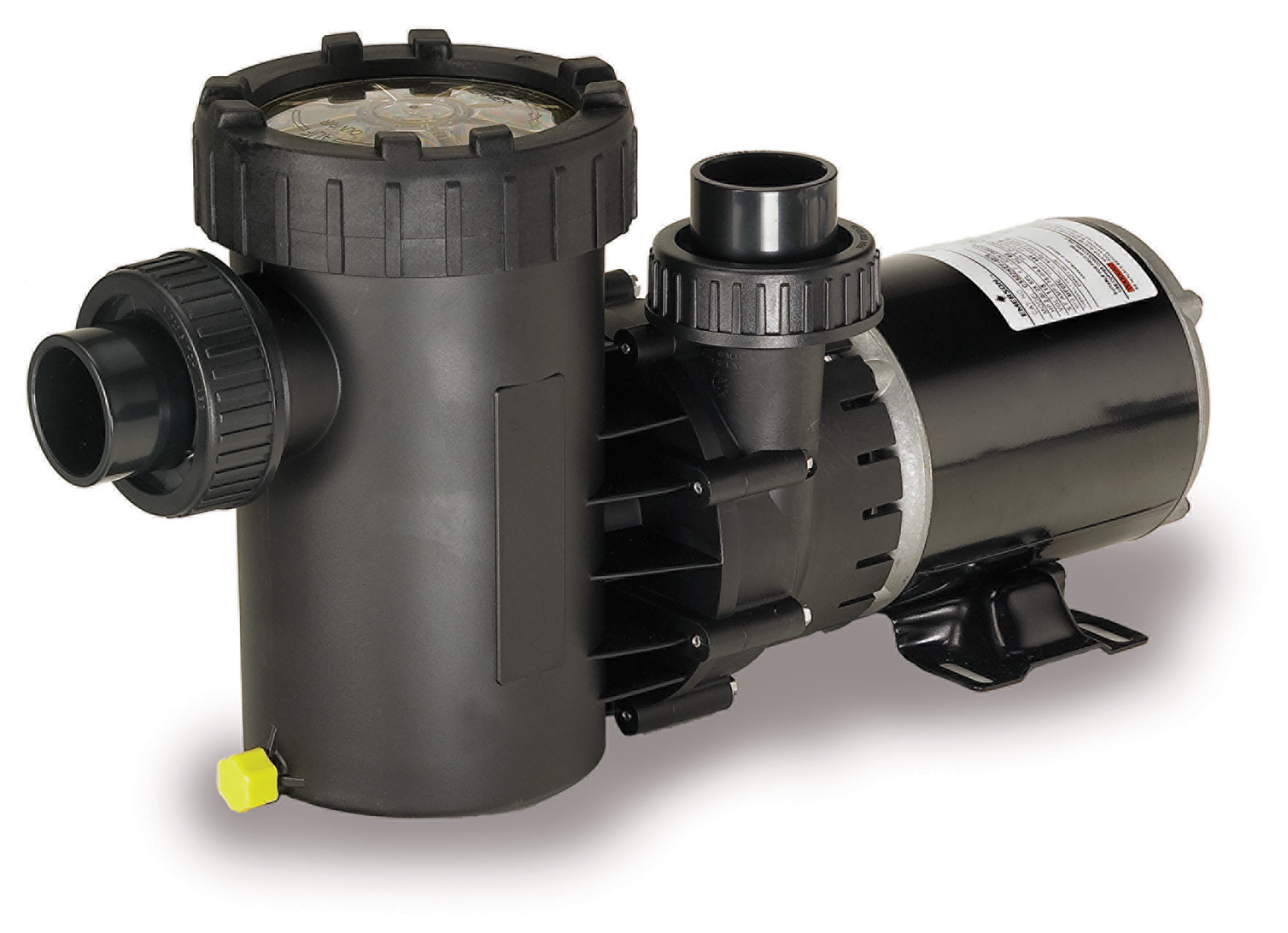 Speck®E71 - The Speck Model E71 medium head pump has been engineered for durability and quiet performance with economy in mind. The all-around pool pump with extra large basket, the E71 is ideally suited for above-ground and on-ground pools.