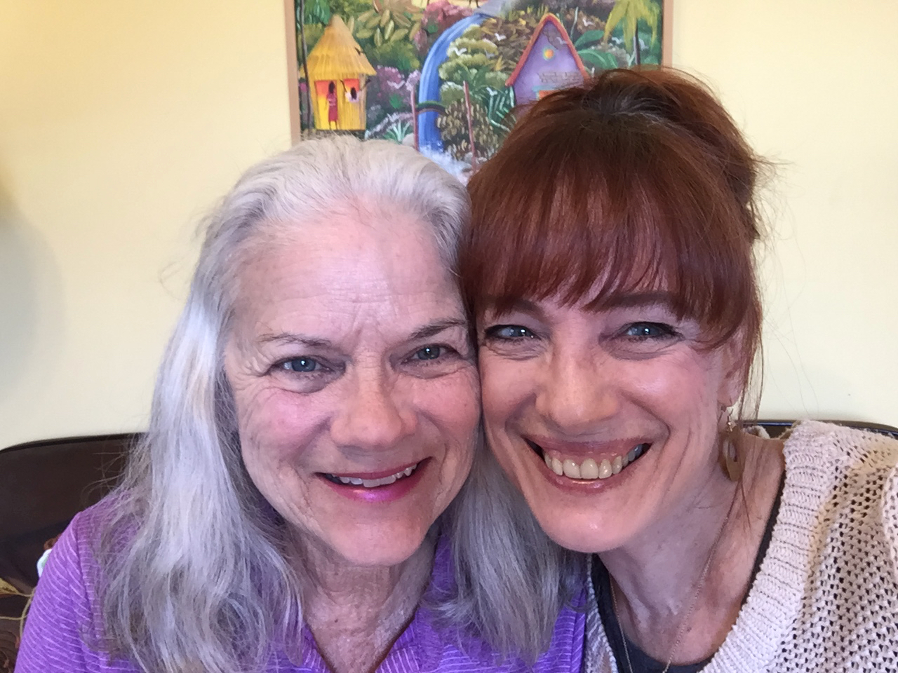 My client Nancy was seeking more independence and confidence - and found it! She is now out exploring the world - and embracing it all with excitement and enthusiasm. Love you, Nancy!