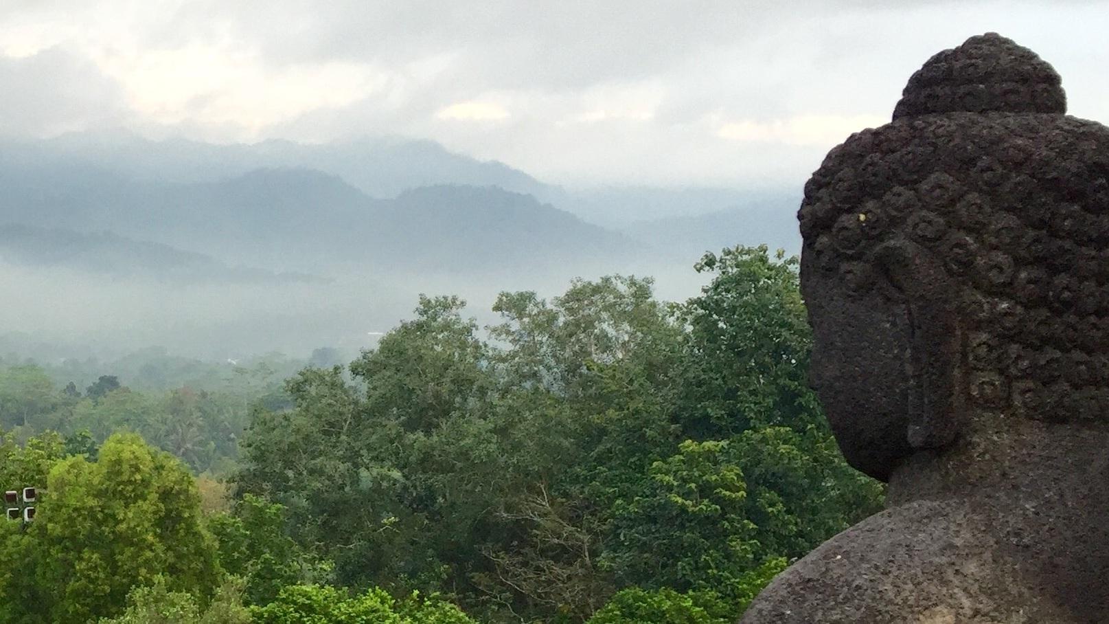 Photo by  Jane Bodle (Borobudur, Java)