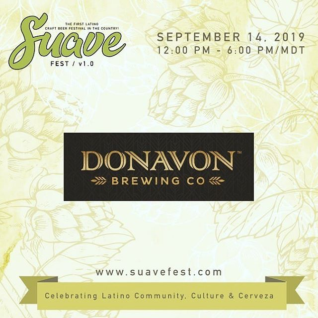 We're excited to be participating in @elsuavefest tomorrow! Tickets are still available via the link in our bio. You can count on delicious beers, food, and great music, just bring a friend! 🍻🎶