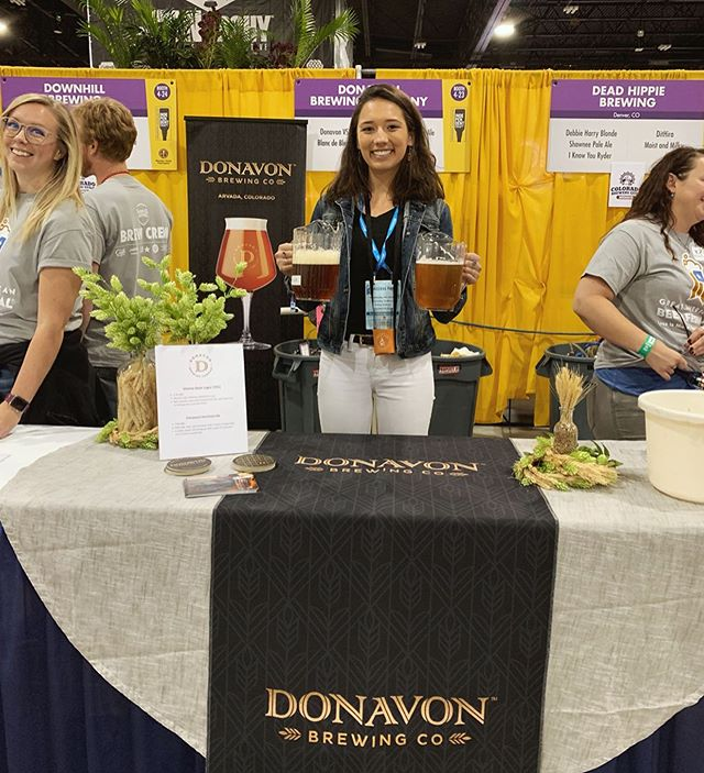 We had such a blast pouring beer at our first #GABF booth! Did you get a chance to try our cinnamon horchata ale?? We had regulars returning for that one 👍🏽🍻 Cheers to those who stopped by and CONGRATULATIONS to this year's big medal winners!