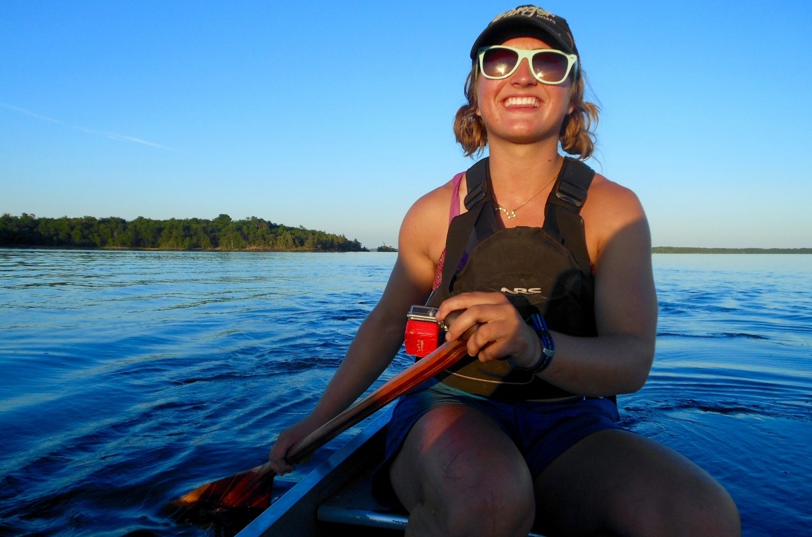 about ravivé - canoeing bridget