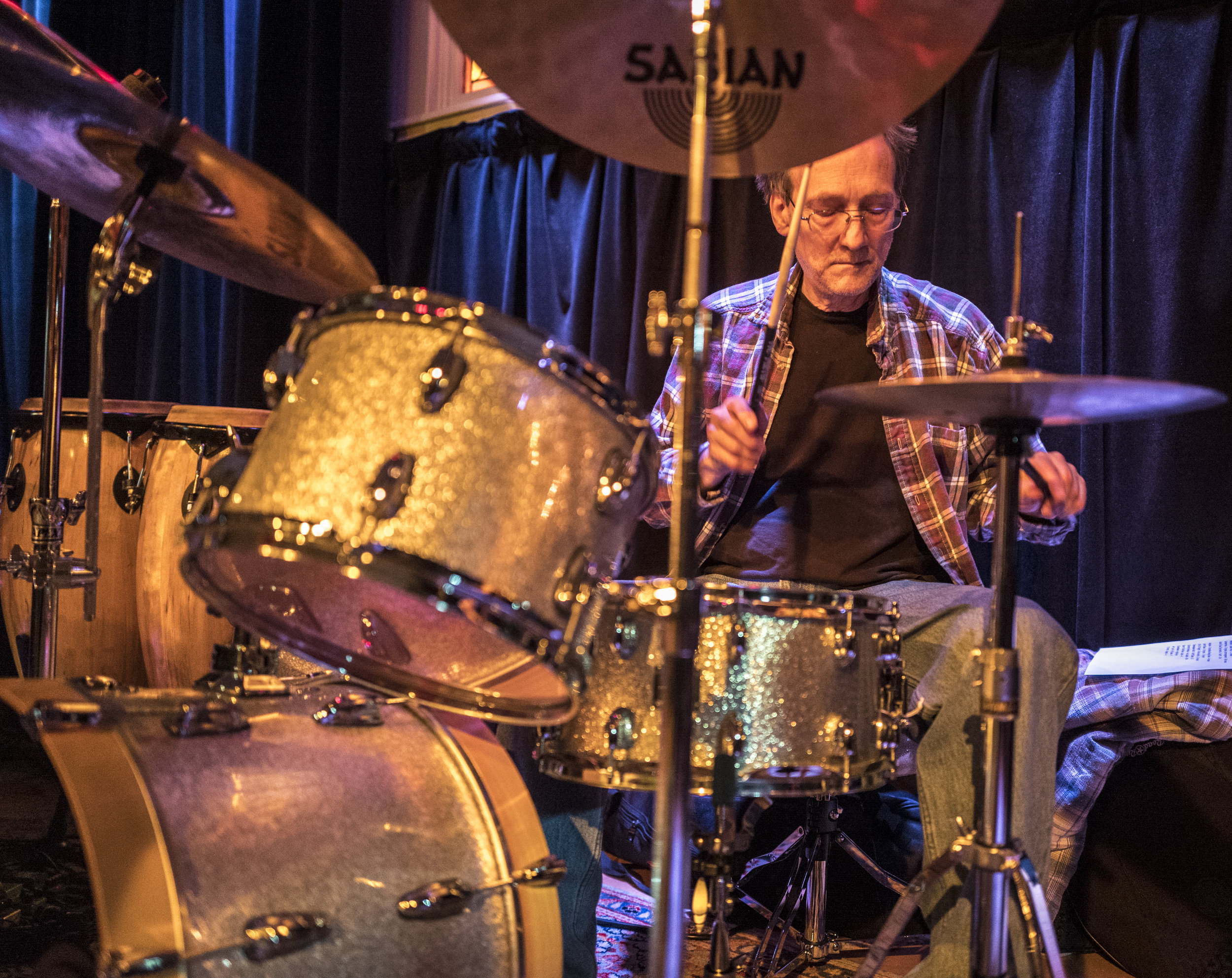 "Corey Fish   From Burien, WA, a graduate of Billy Moore's School of Percussion in Los Angeles, Corey moved to New York in 1980, where he played in ""orchestra"" bands for several more years until returning to Seattle in 1994."
