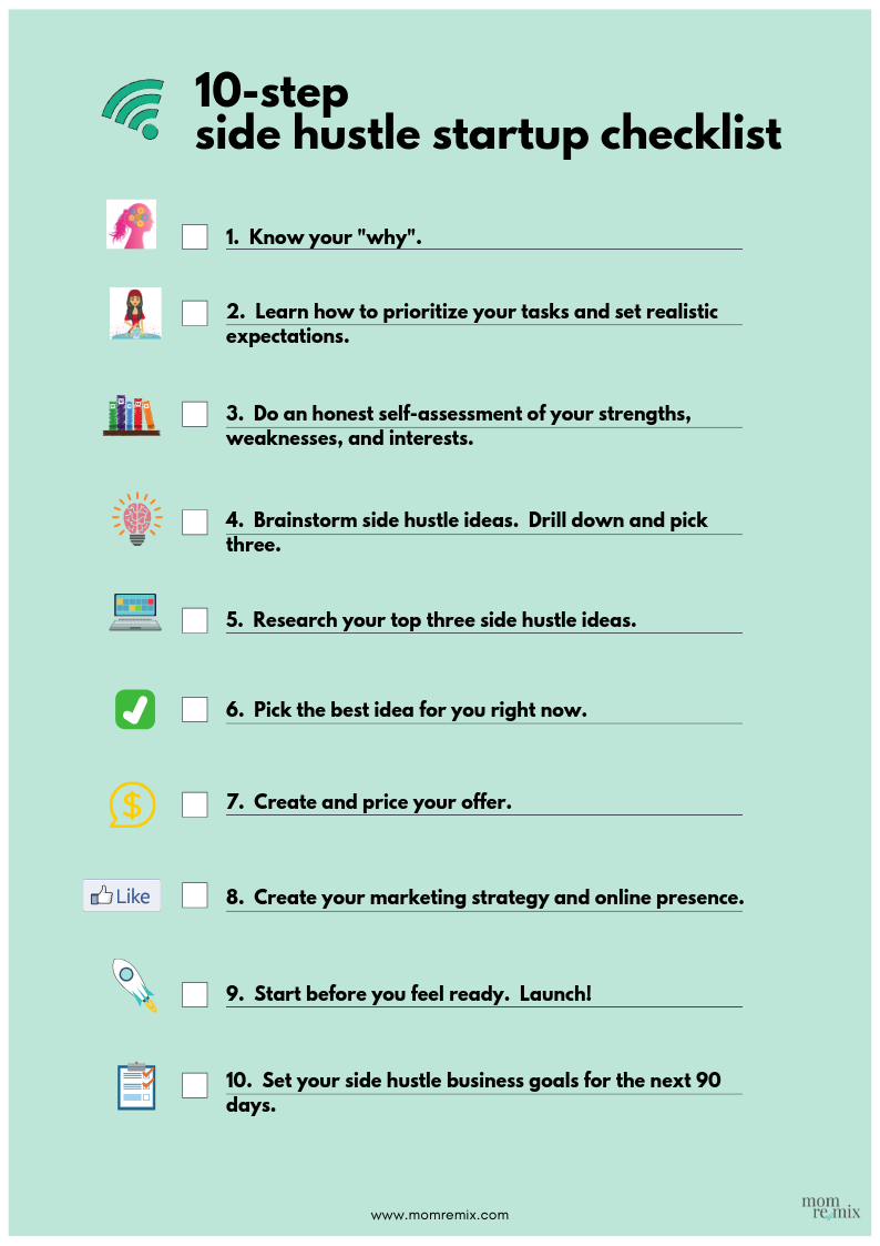 Side Hustle Checklist