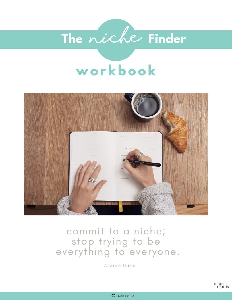 Niche Finder Workbook