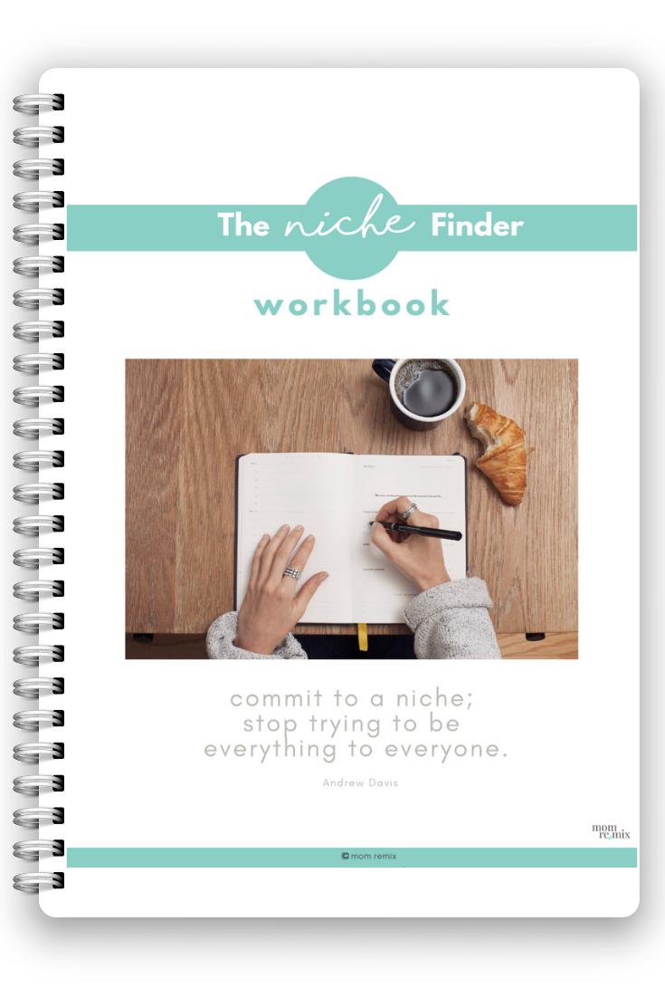 The Niche Finder Workbook
