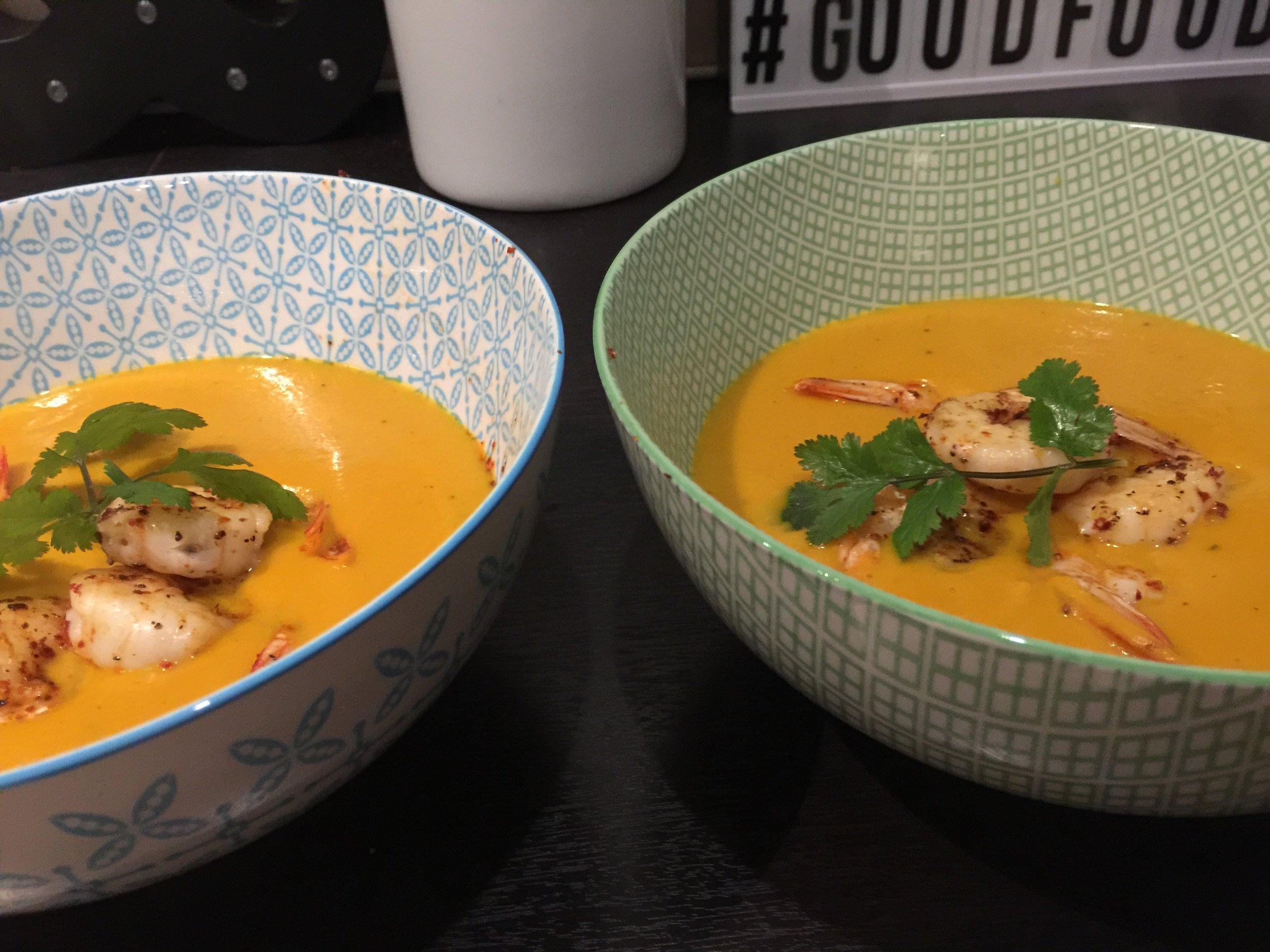 Pumpkin Carrot Ginger Soup .JPG