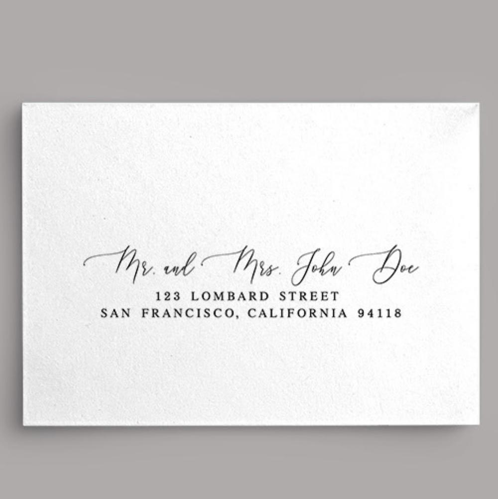How To Address Wedding Invitations Gertrude Paper Studio