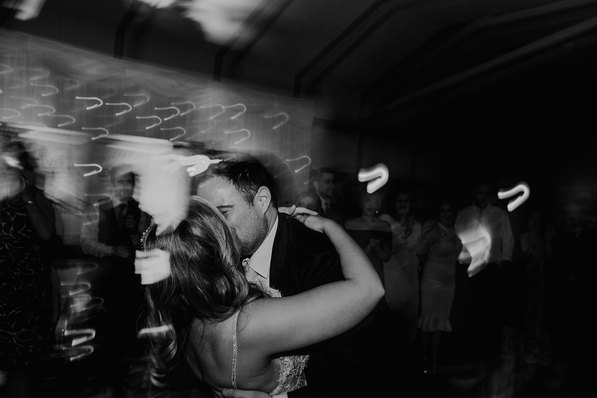 lusty beg island wedding first dance wedding photographers The Martins