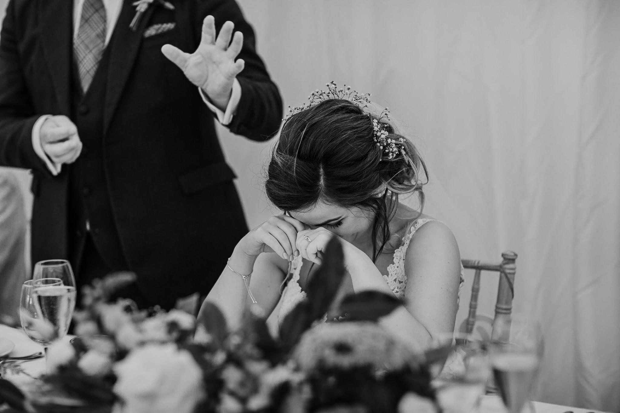 brides reaction speeches funny