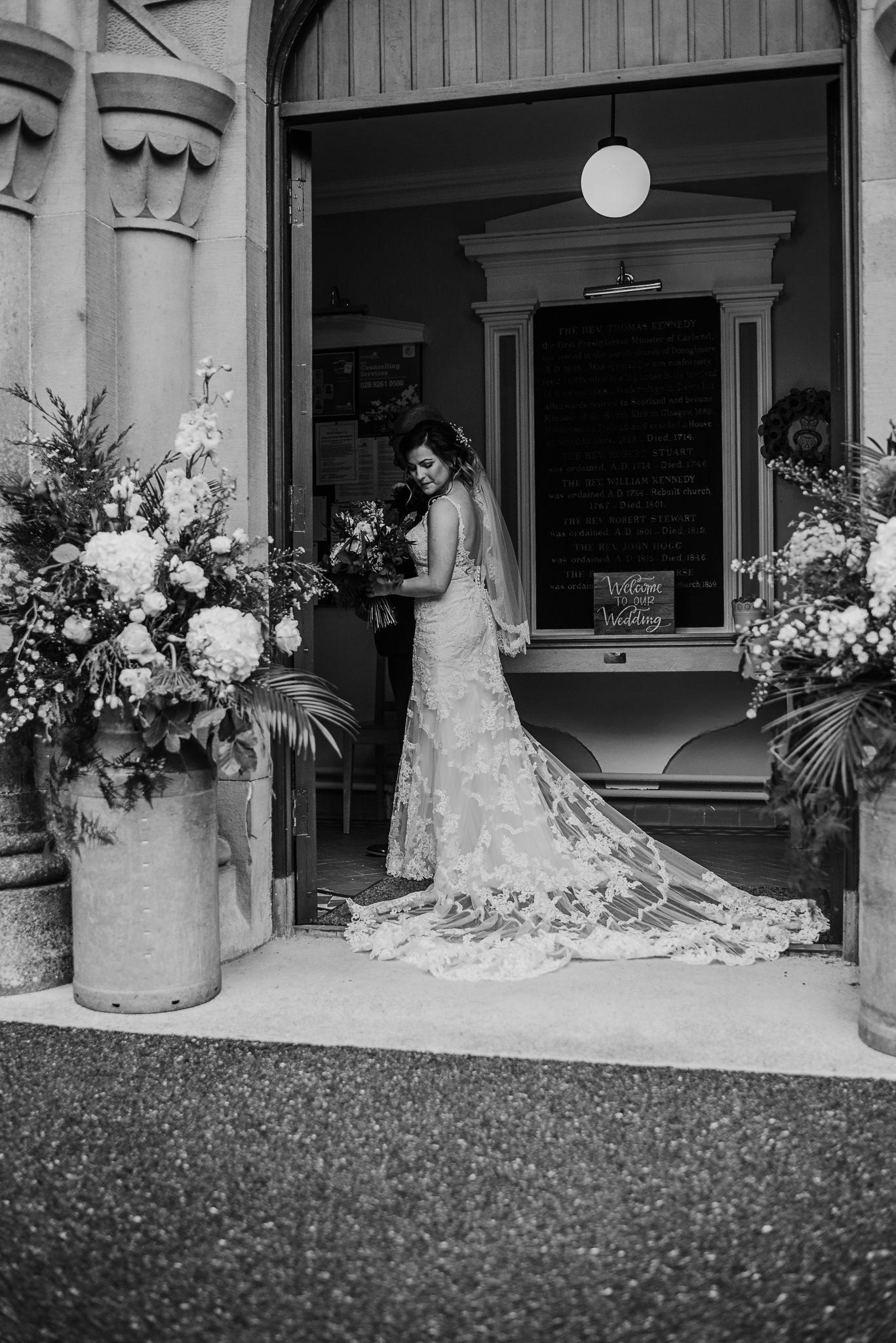 bride emotional before ceremony Northern Ireland Wedding Photographers