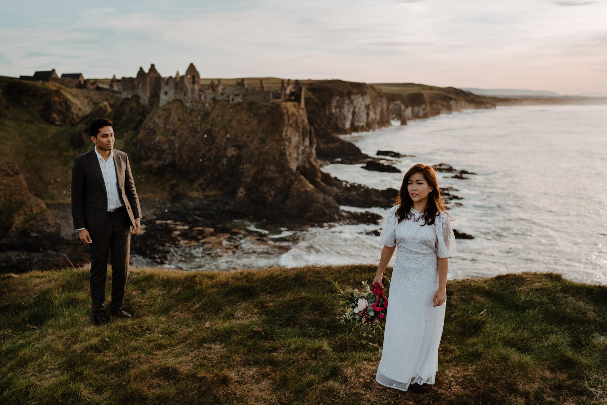 dunluce-castle-elopement-northern-ireland-irish-elopement