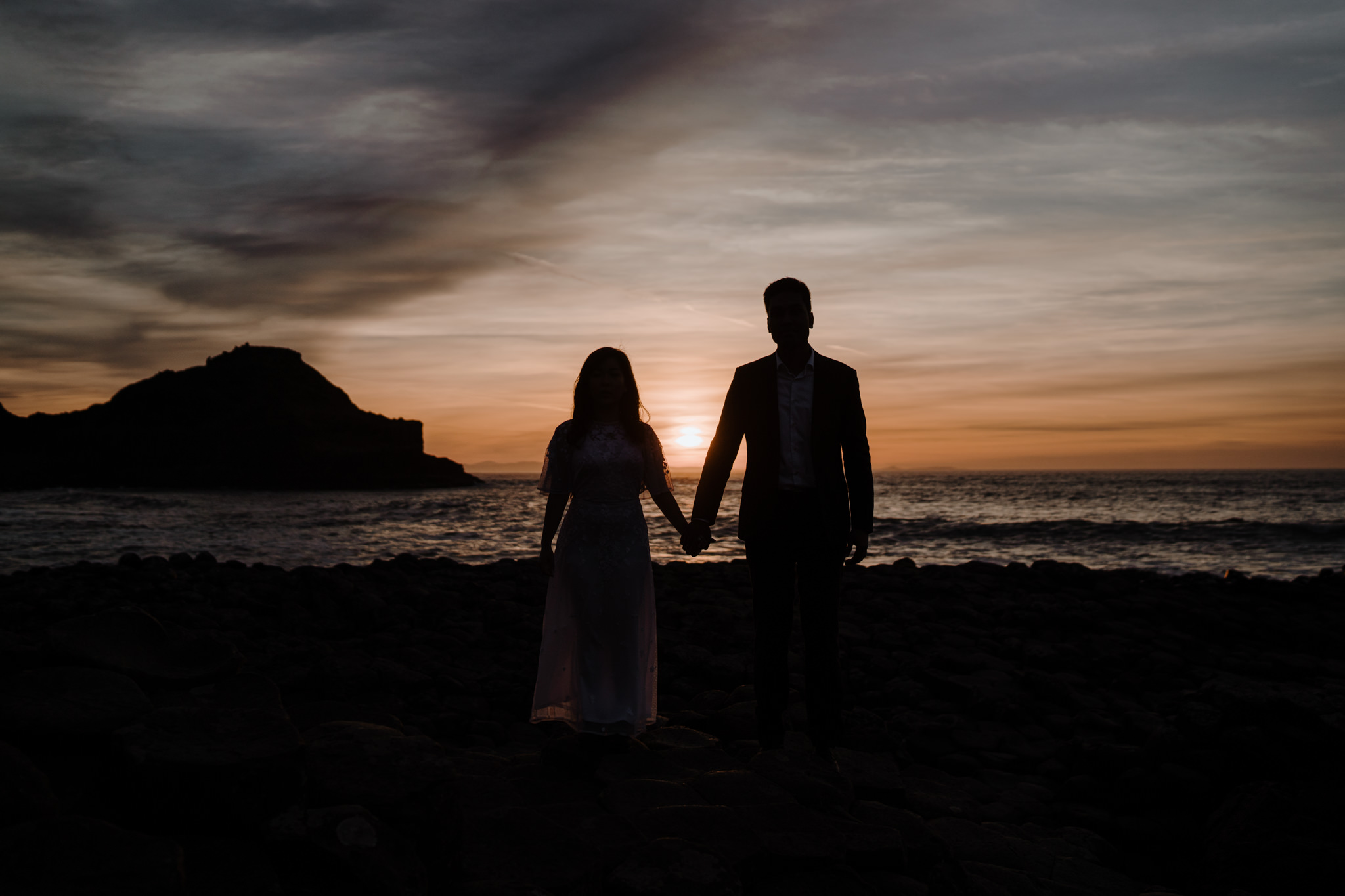 sunset-session-the-giants-causeway-bride-groom
