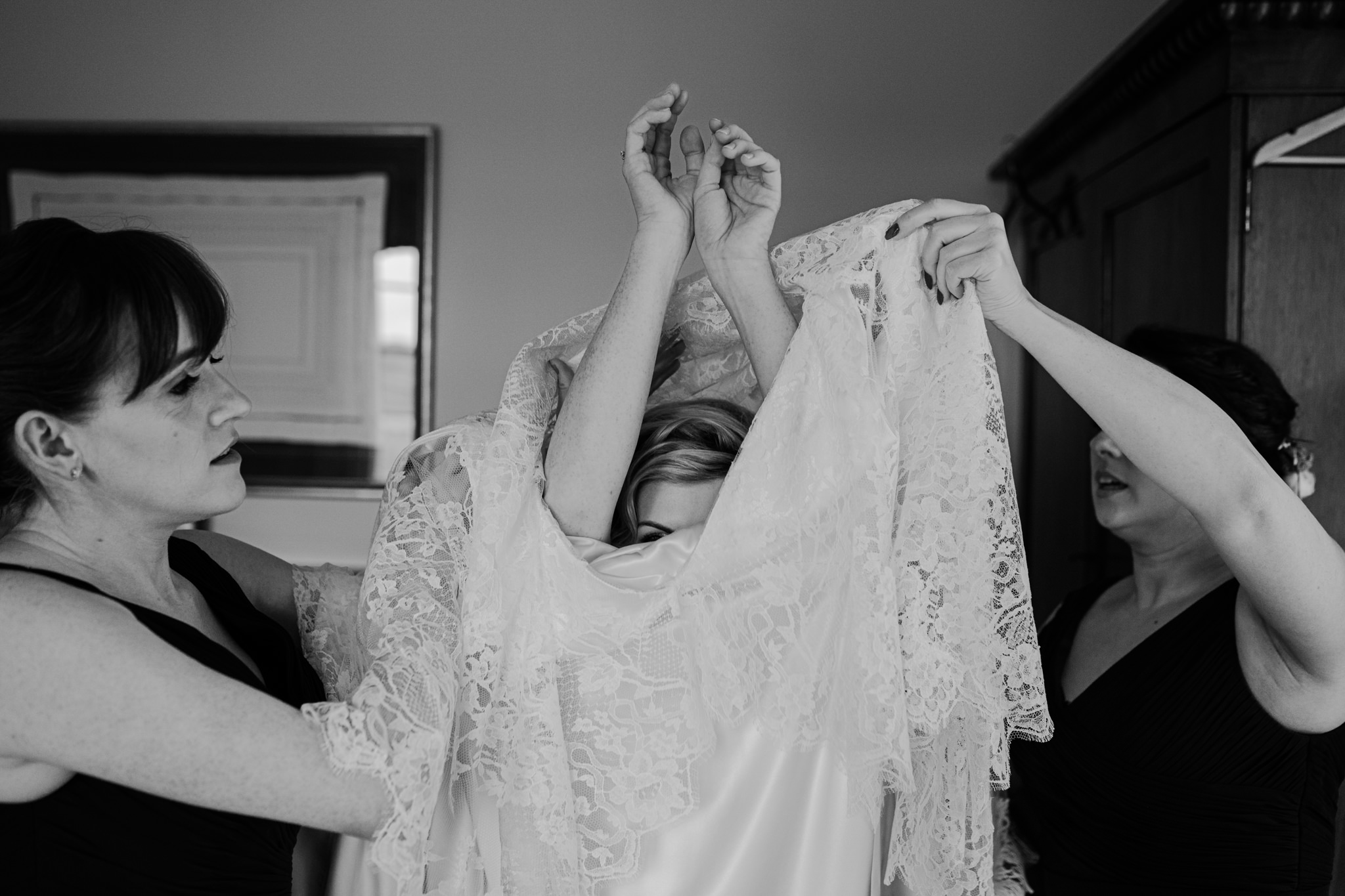 bride-getting-ready-wedding-dress-tullyveery-house
