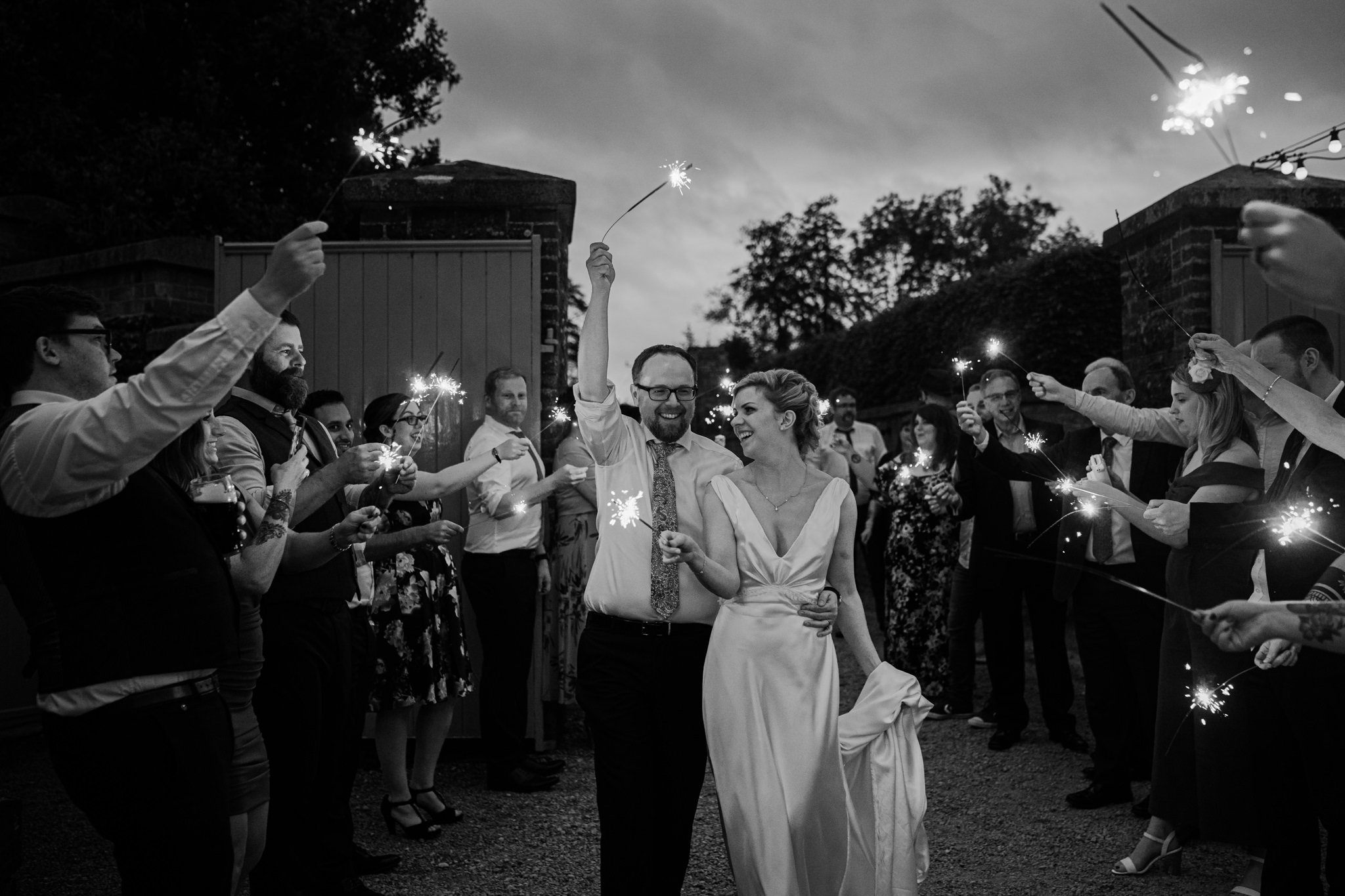 sparkler-exit-tullyveery-house-wedding-northern-ireland