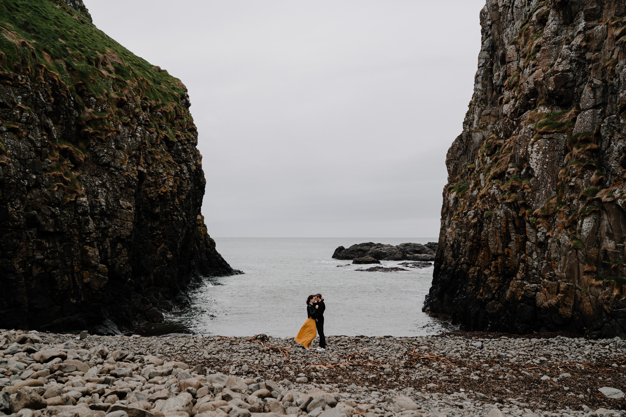 top locations to elope in northern ireland dunseverick castle