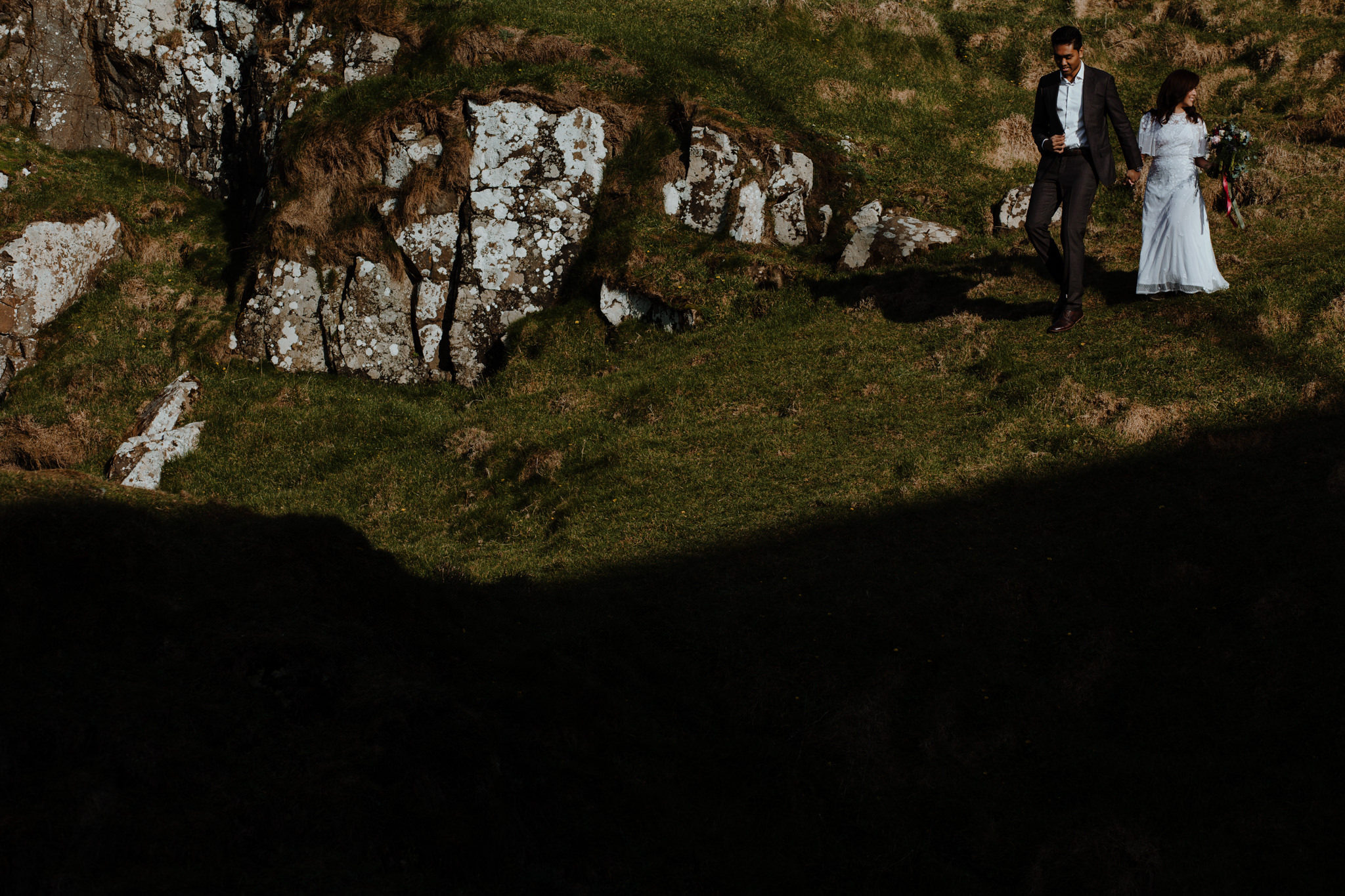 epic castle ruin elopement locations in ireland