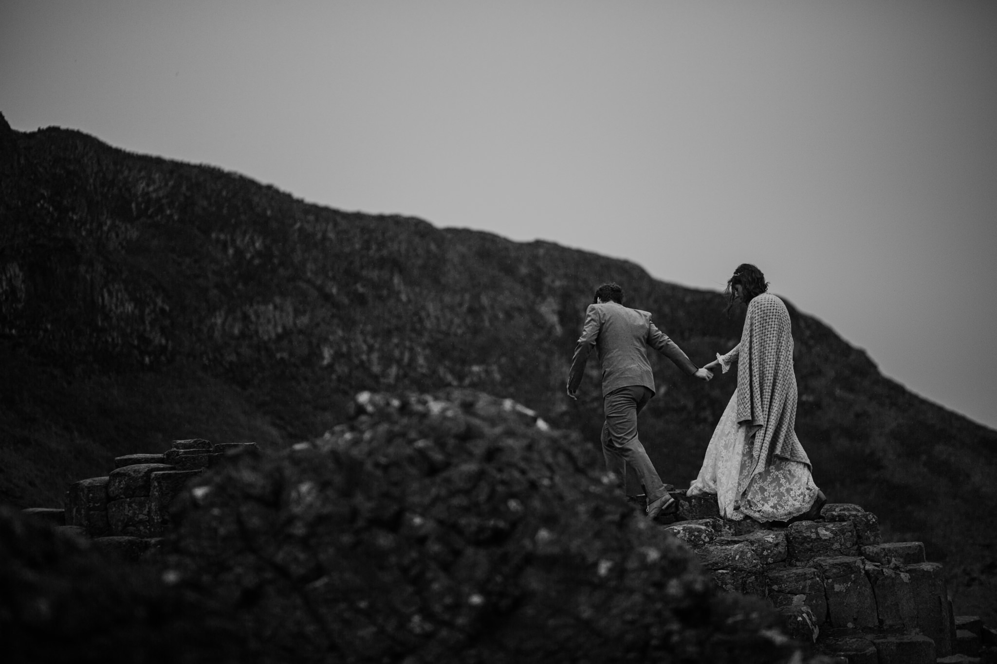 best places to elope in Ireland The giants Causeway