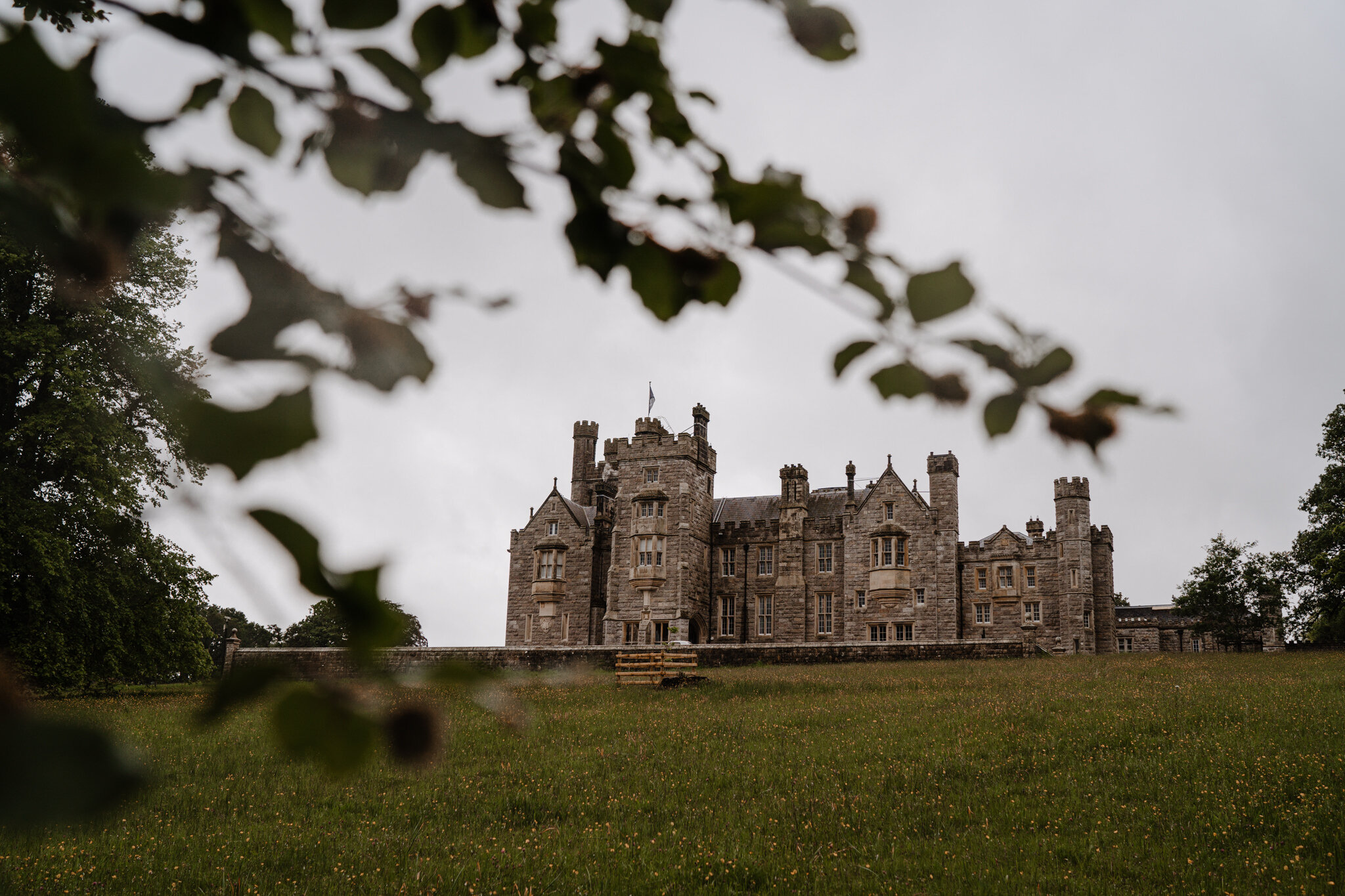 The west wing crom castle enniskillen weddimg