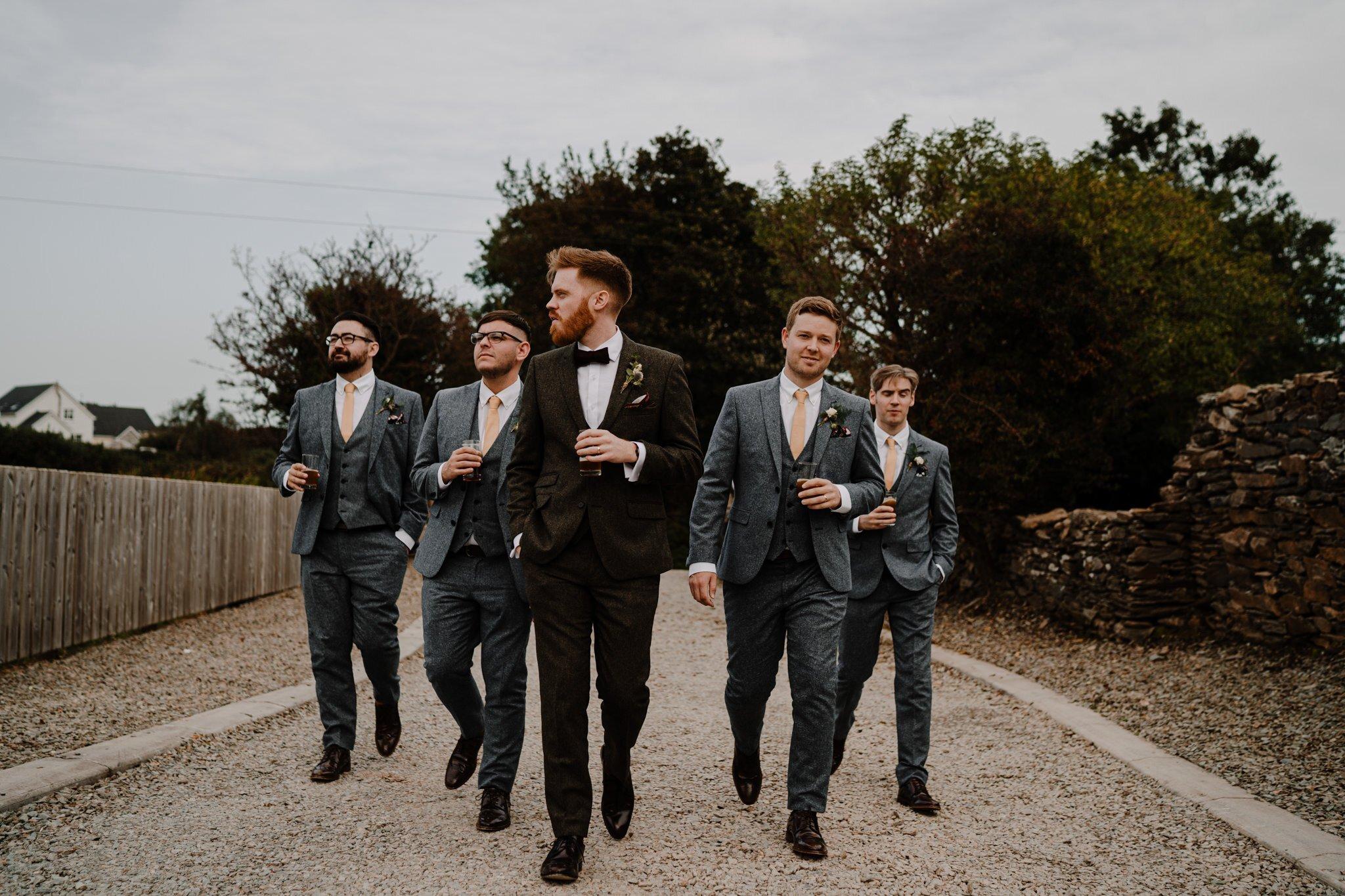 Groomsmen-squad-cool-bogart-tweed-suits