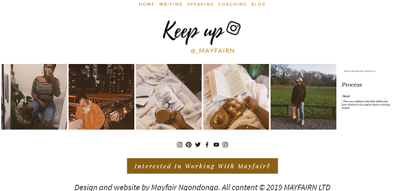 - ← Instagram reel on my footer (Squarespace function)