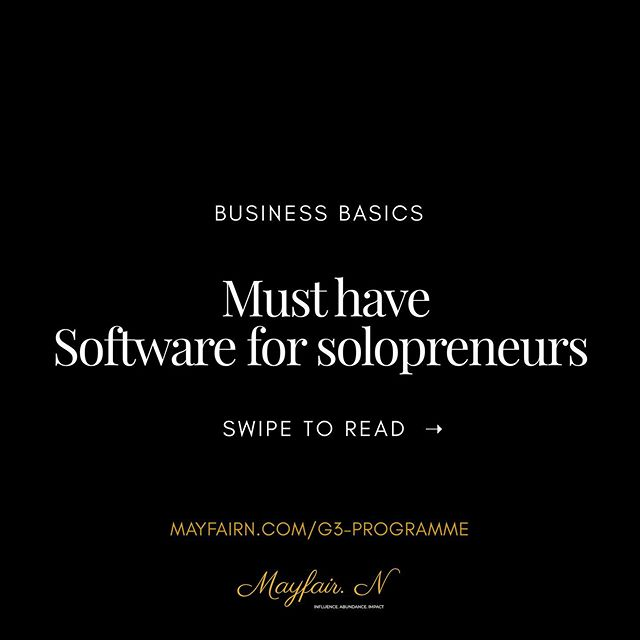 WHAT IF YOU COULD HAVE BOTH? 🤔⁣ ⁣ The thriving business and bag the degree.⁣ ⁣ As I prepare to go back to my law degree in September and balance my business, that is constantly evolving, STREAMLINING my process has been a top priority. 🙅🏾‍♀️⁣ ⁣ It's the only way you can do both and avoid overwhelm. ⁣ ⁣ If you're a student looking to create a business whilst studying or you're a solopreneur just looking to save yourself some time ⏰ I've complied a few of my fave business softwares. 📝⁣ ⁣ They are all super cost effective or FREE so get on it. ⁣ ⁣ In my latest blog post (LINK IN BIO) I go into even more detail about how you can streamline your process and what the hell a process is 😅 ⁣ ⁣ Entrepreneurs, what are some of your favourite tools and softwares? 👇🏾 ⁣ ⁣ 😘✨⁣