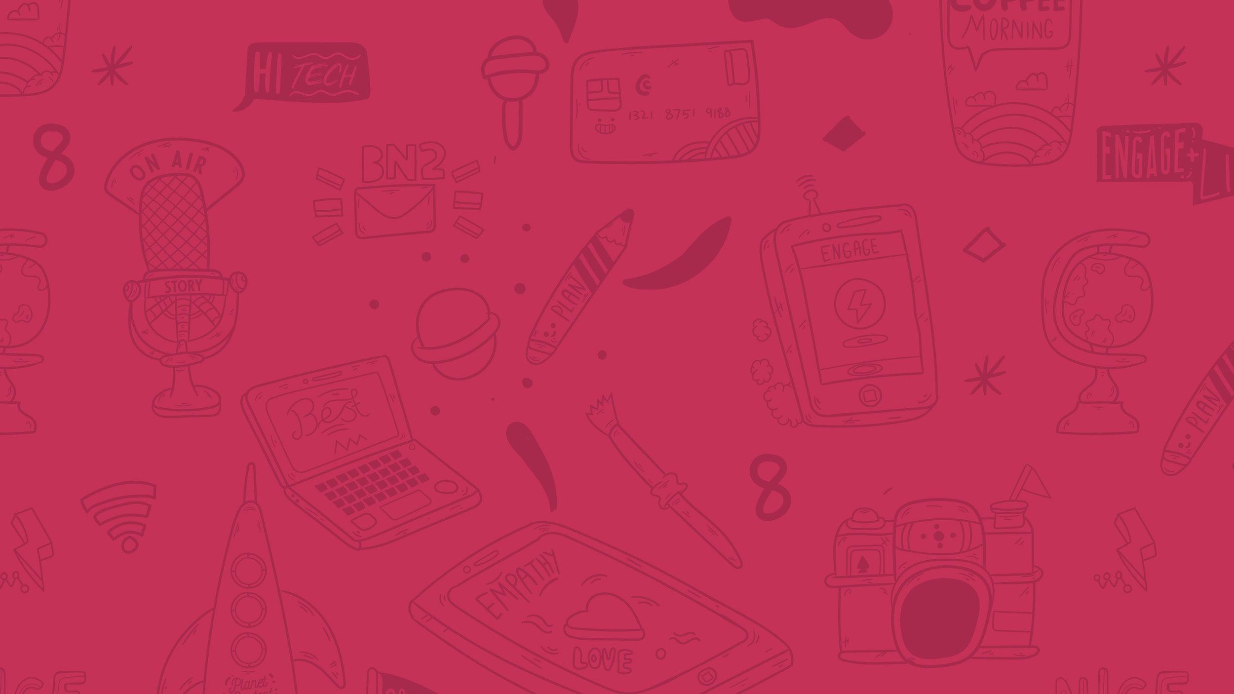 Vector illustration background for application design