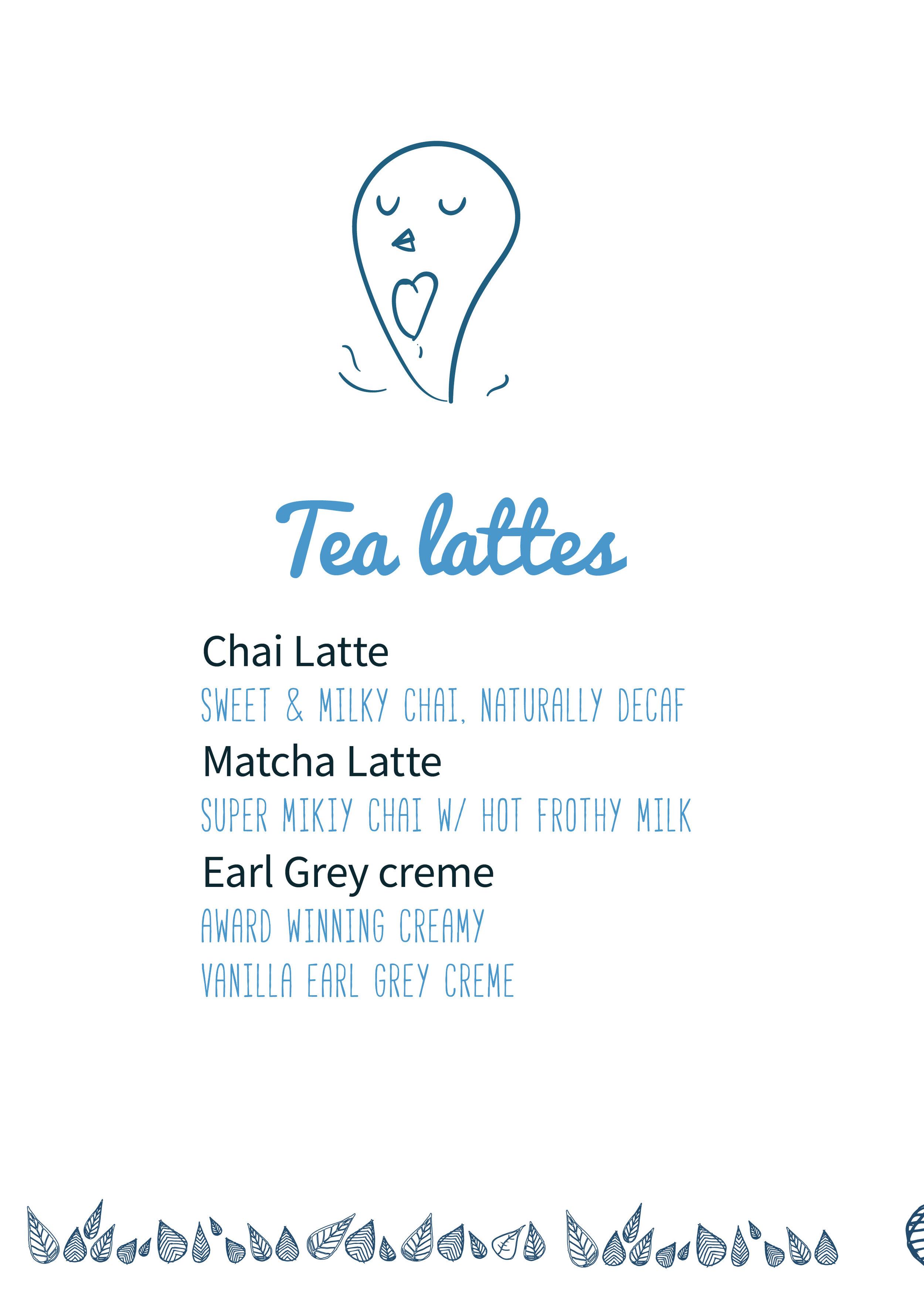 Illustration branding for menu