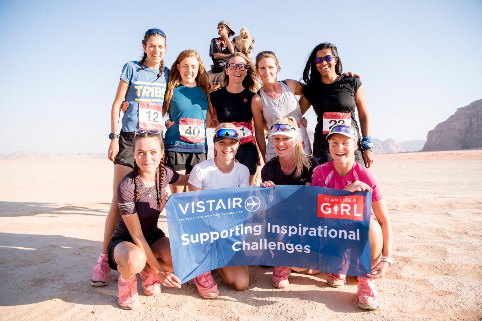 Wadi Rum Ultra - Team Like A Girl
