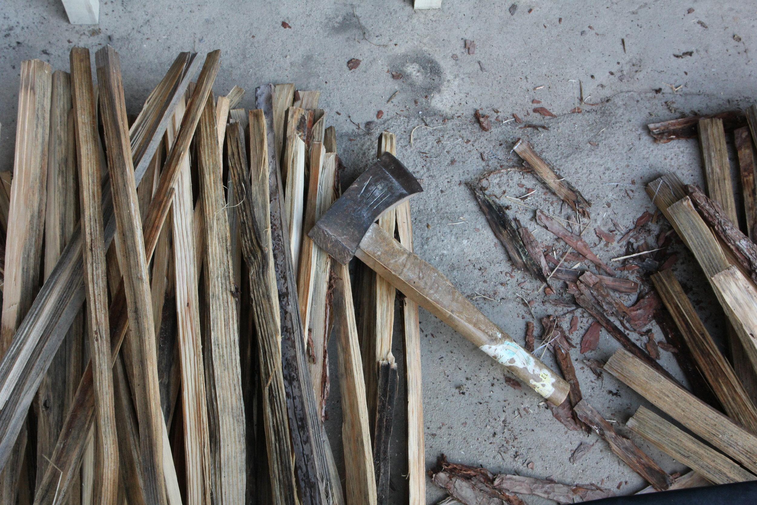 Wood Bizen-Yaki Asemi Co