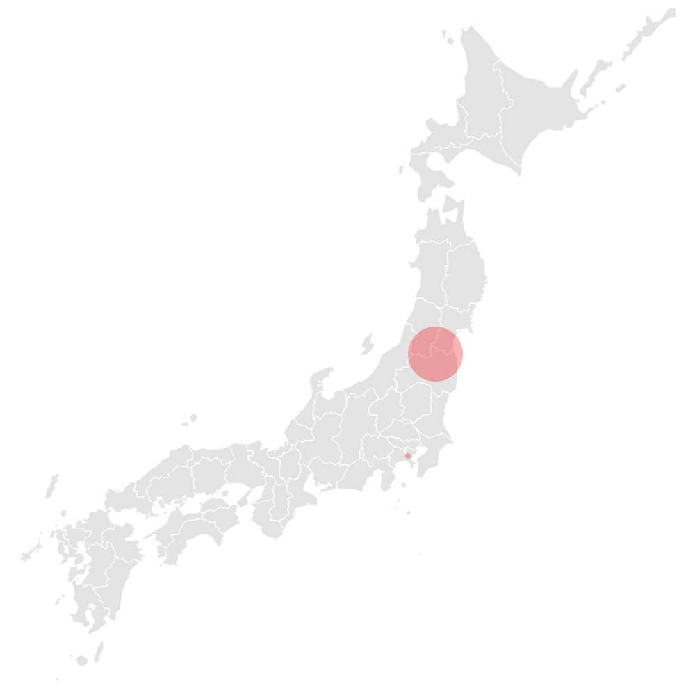 Map Fukushima Soma Asemi