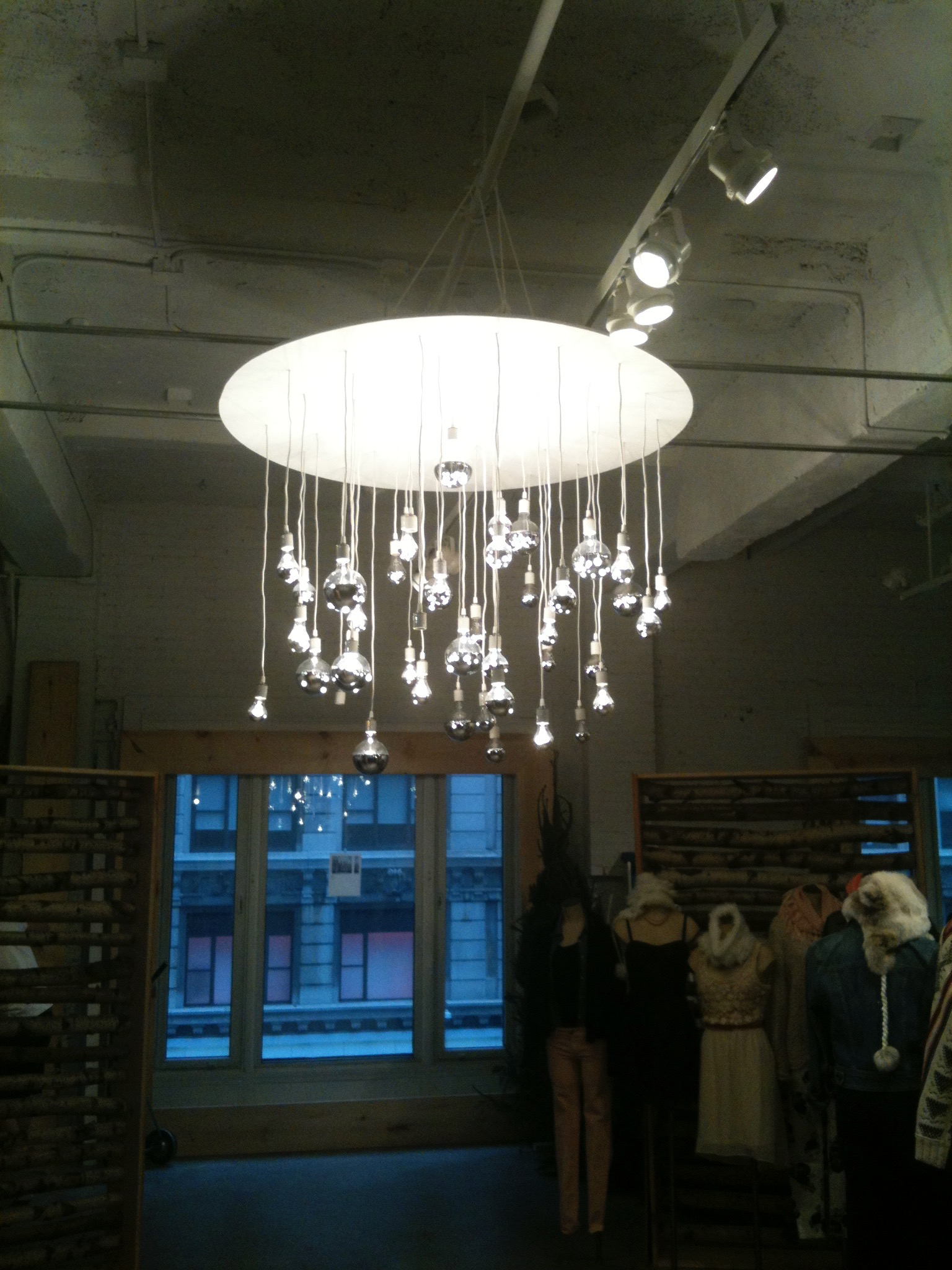 fabricated chandelier