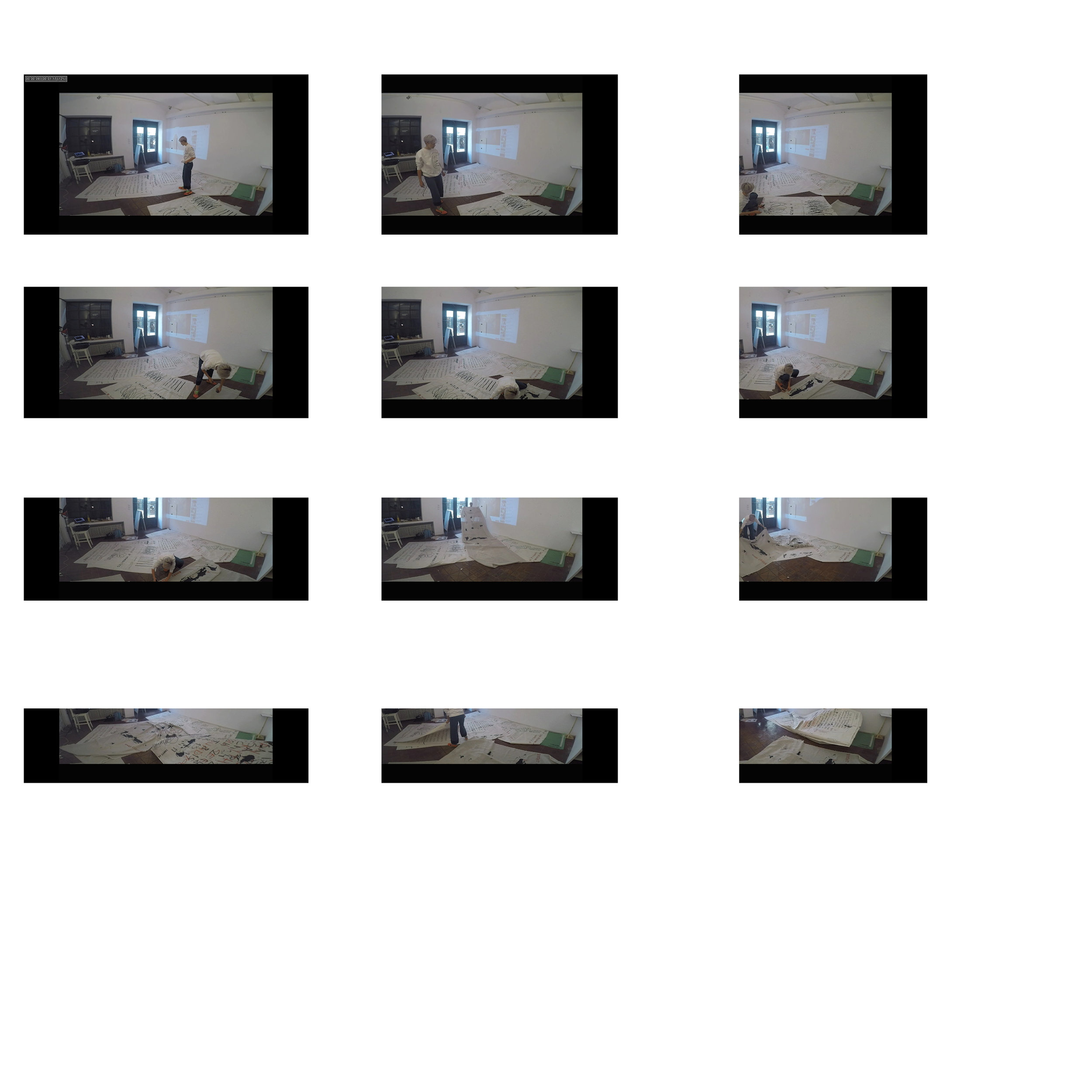 artist@work / 15 Design Gallery 12-17 October / 10 meters of research