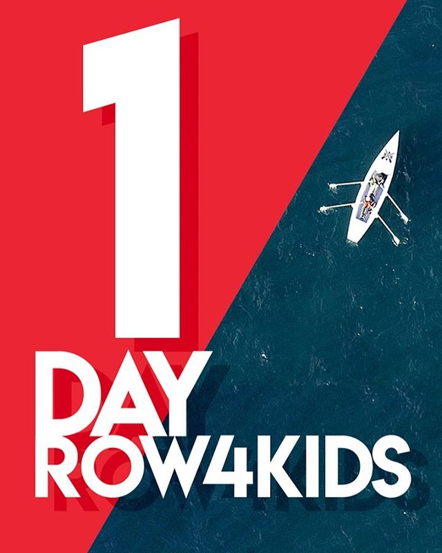 One more day until launch! #Row4Kids