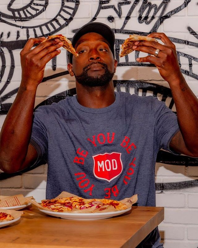 Craving Pizza? If you're anything like Charles post row, you'll probably be able to put a dent in one! Drop by one of the 26 participating Chicagoland MOD Pizza locations today and 20% of your proceeds will go to Row4Kids. Locations are listed on our site: https://www.row4kids.com/mod-pizza-press-release