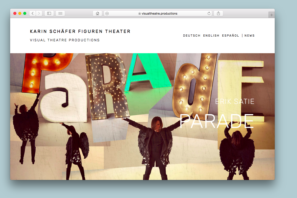 Visual Theatre - www.figurentheater.at