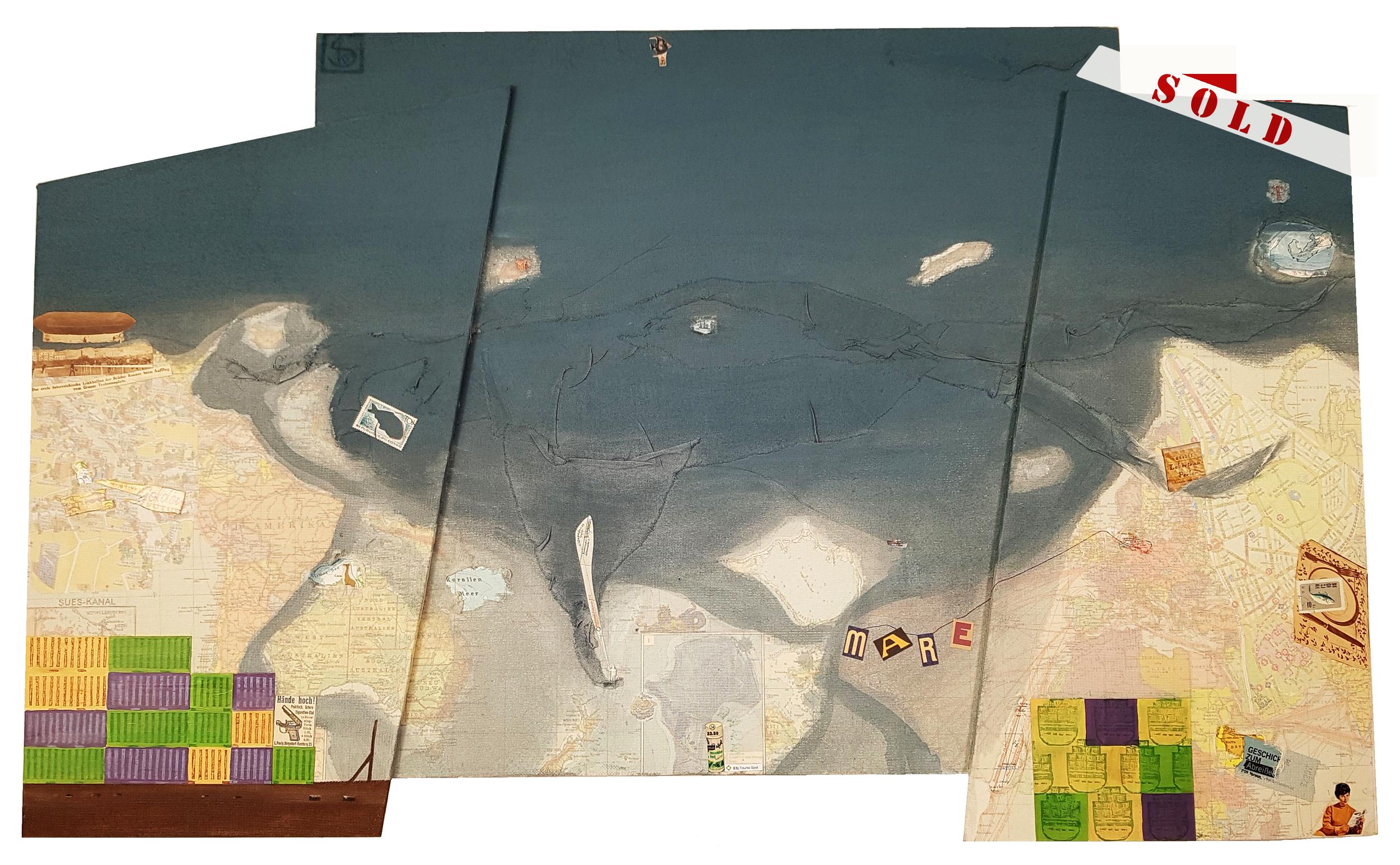mare - 96 x 60 cm / 37,8 x 23,6 in
